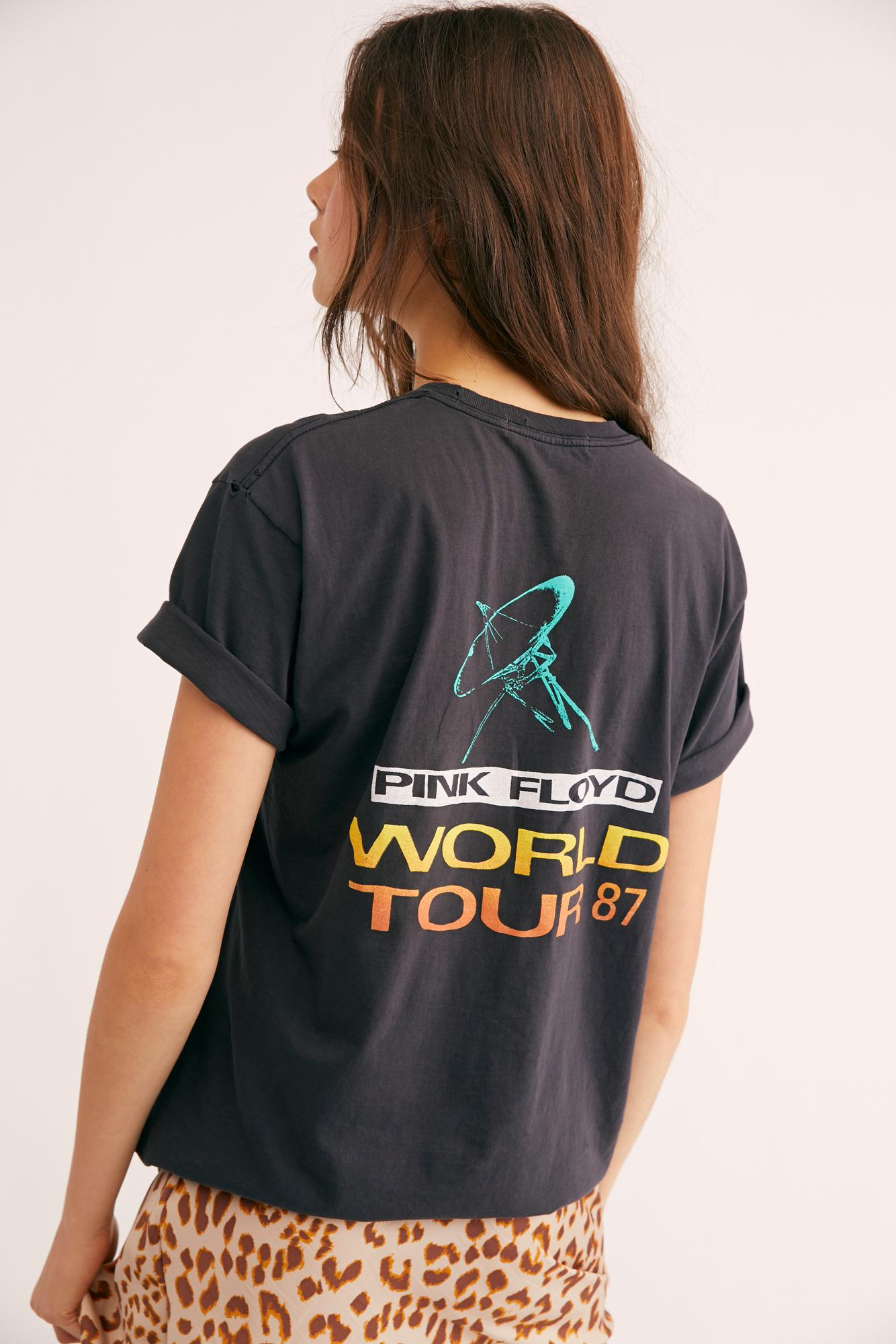 Lyst Free People World Tour Tee In Black