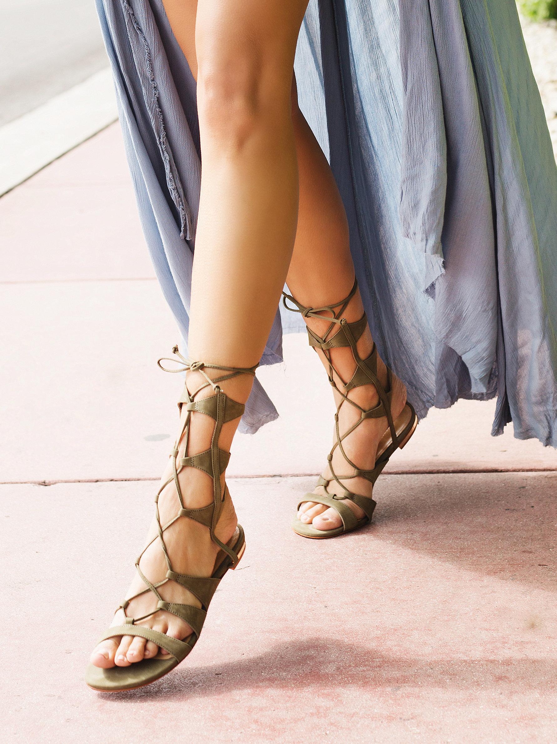 b0ea0885c8d Gallery. Women s Lace Up Flats Women s Gladiator Sandals ...