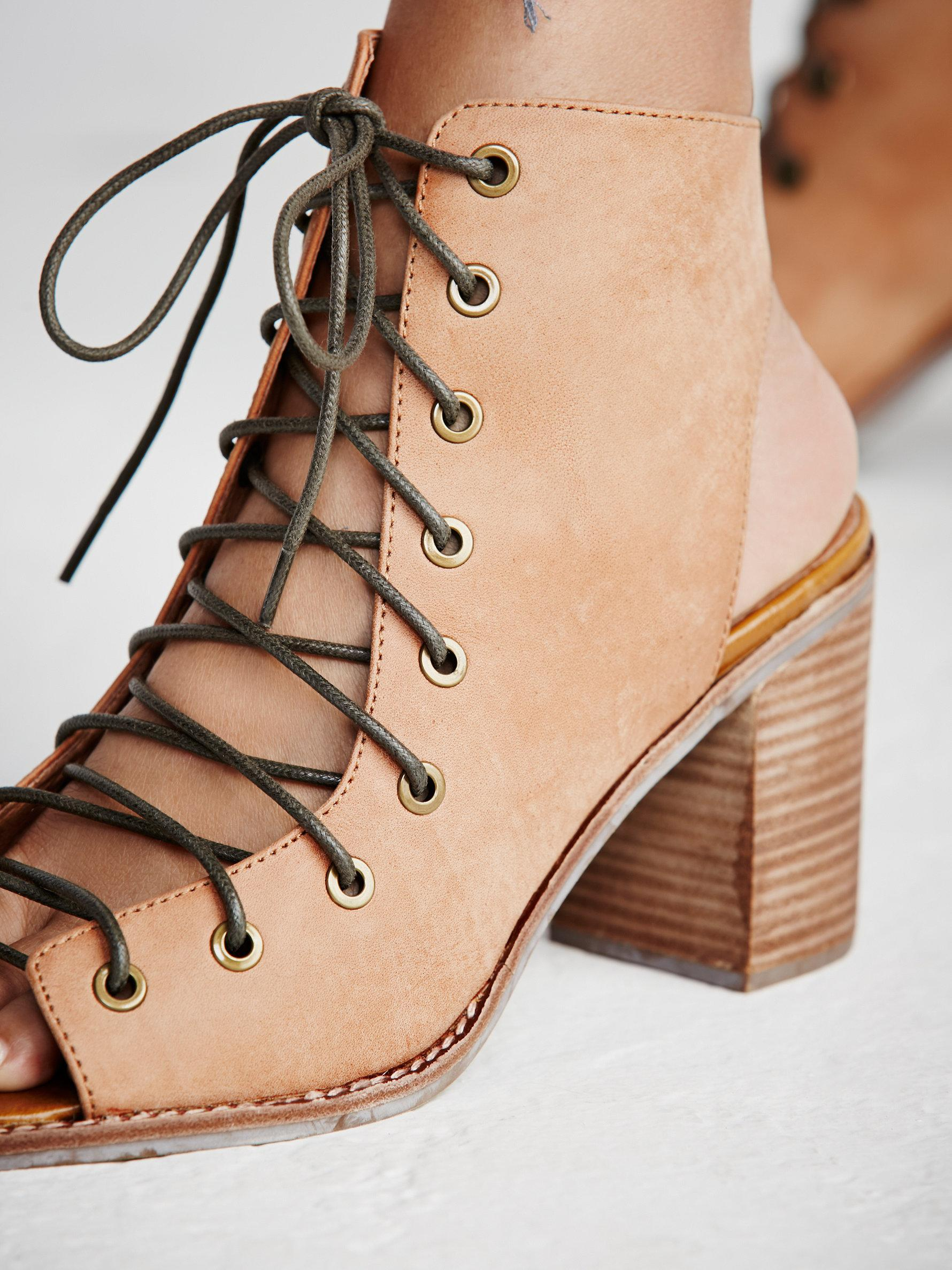 b8591b0324e Minimal Lace Up Heel - Red Heels Vip