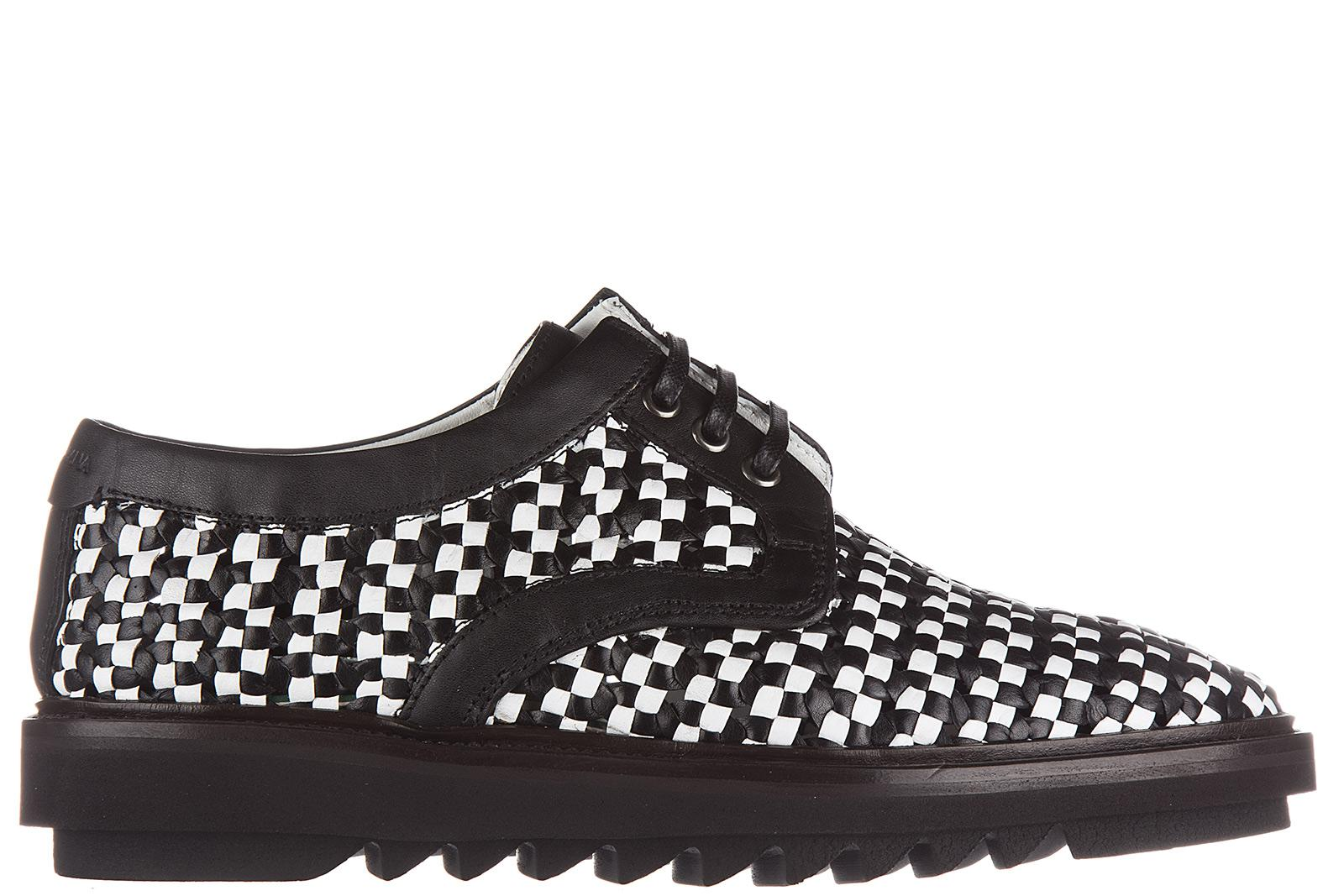 Derby Lace-Up shoes leather black red snake embossment Dolce & Gabbana duLaL5yUE8