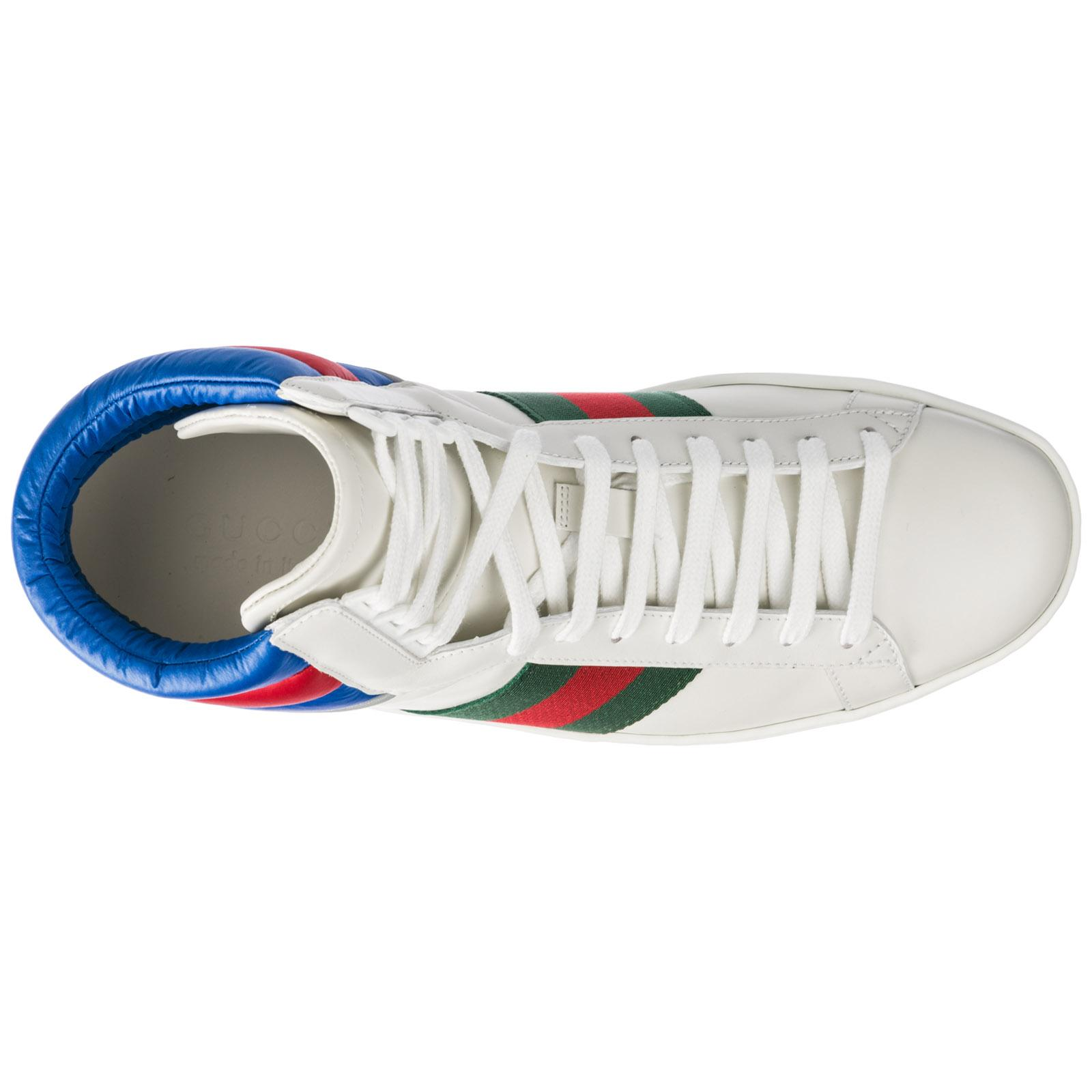 Gucci Scarpe Sneakers Alte Uomo In Pelle Ace for Men - Lyst b6c7b9ccd648
