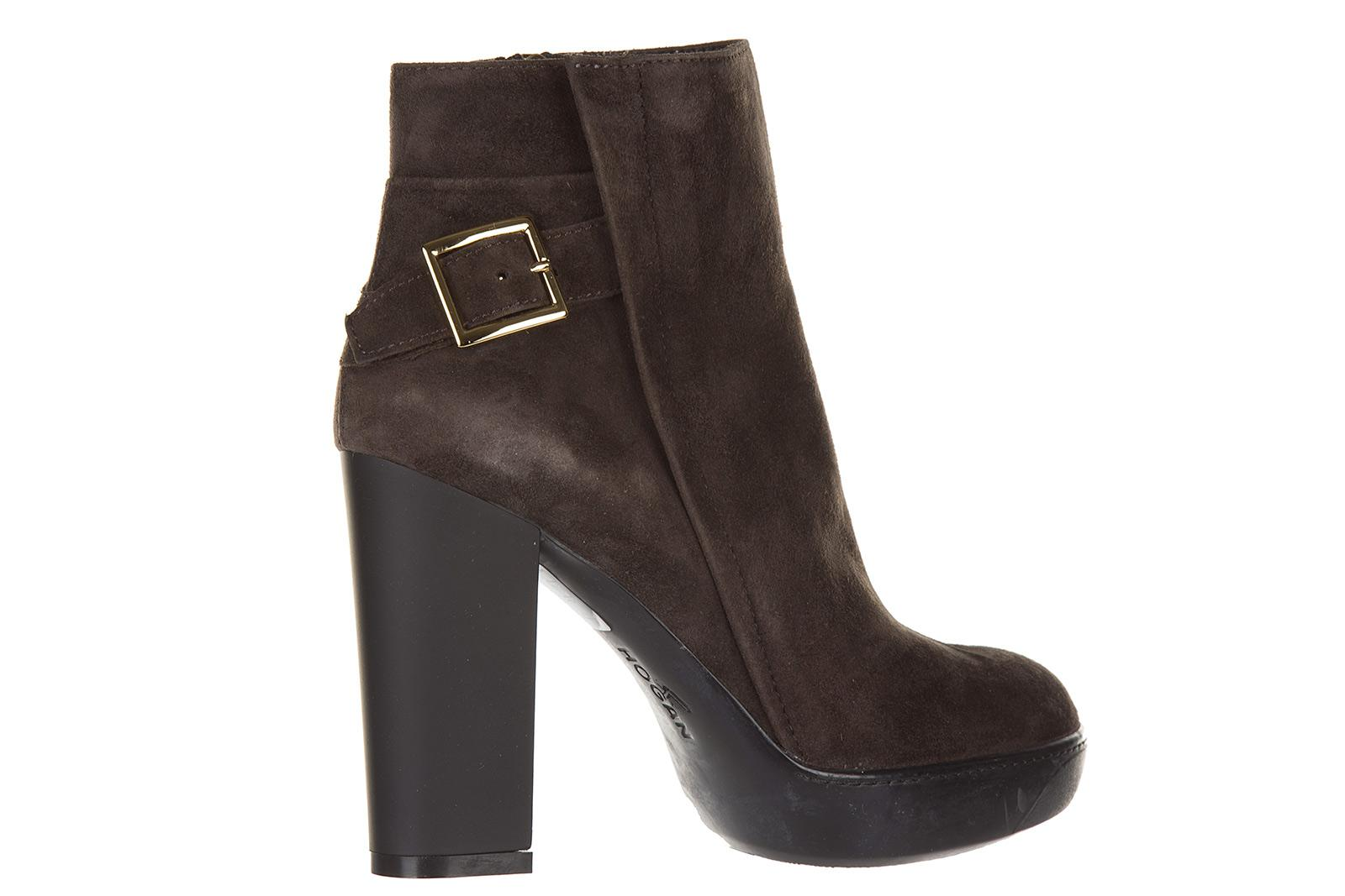 Classic Hogan Ankle Boots Opty suede taupe Cheap Sale Purchase Outlet Cheap Visit For Sale HHIMmyhTe