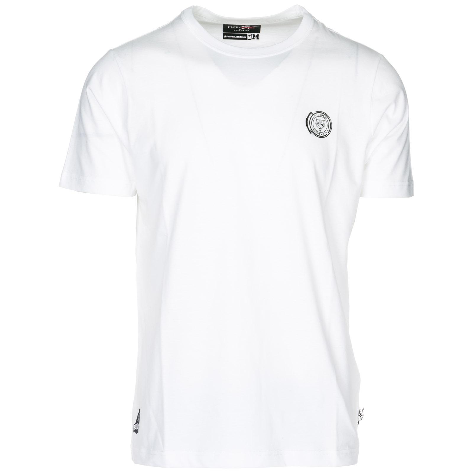1ec3f51bf66 Philipp Plein Short Sleeve T-shirt Crew Neckline Jumper Ss Statement ...