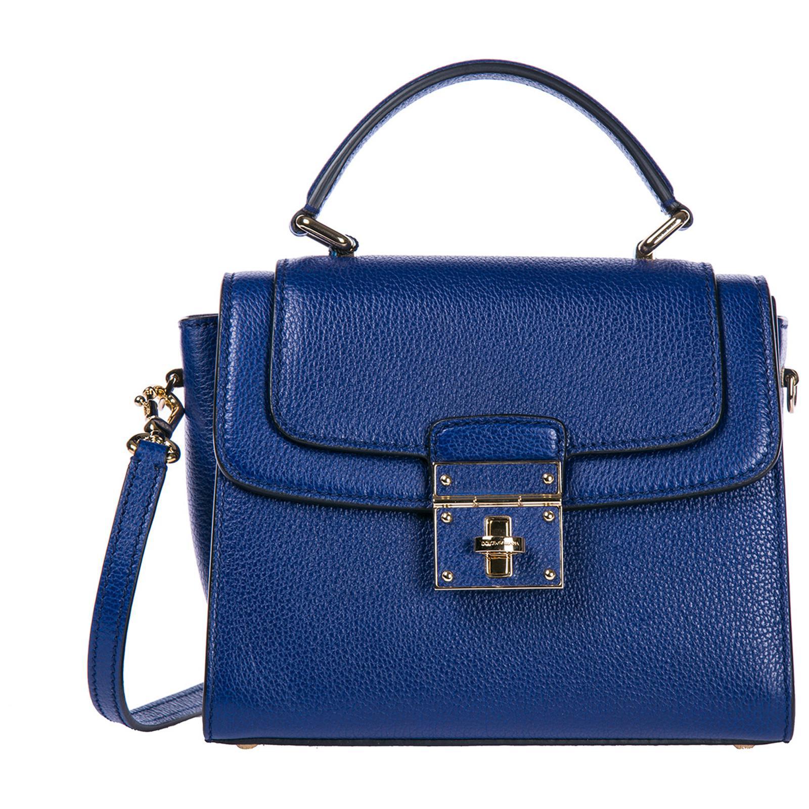 92031674cb8c Dolce   Gabbana Small Greta Tote Bag in Blue - Save 50% - Lyst