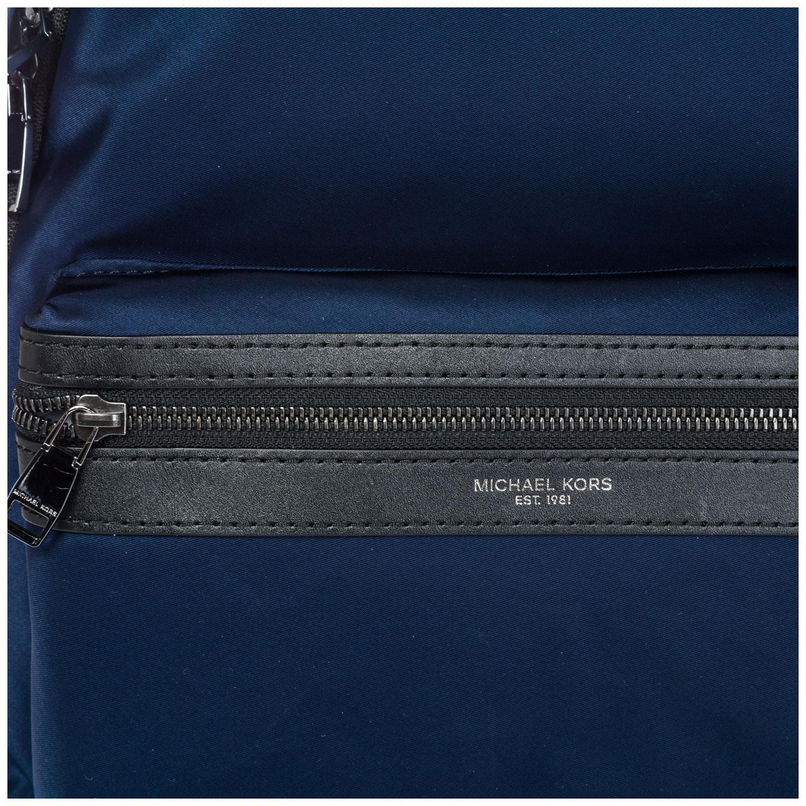6063fa5cdc47 Michael Kors - Blue Nylon Rucksack Backpack Travel for Men - Lyst. View  fullscreen