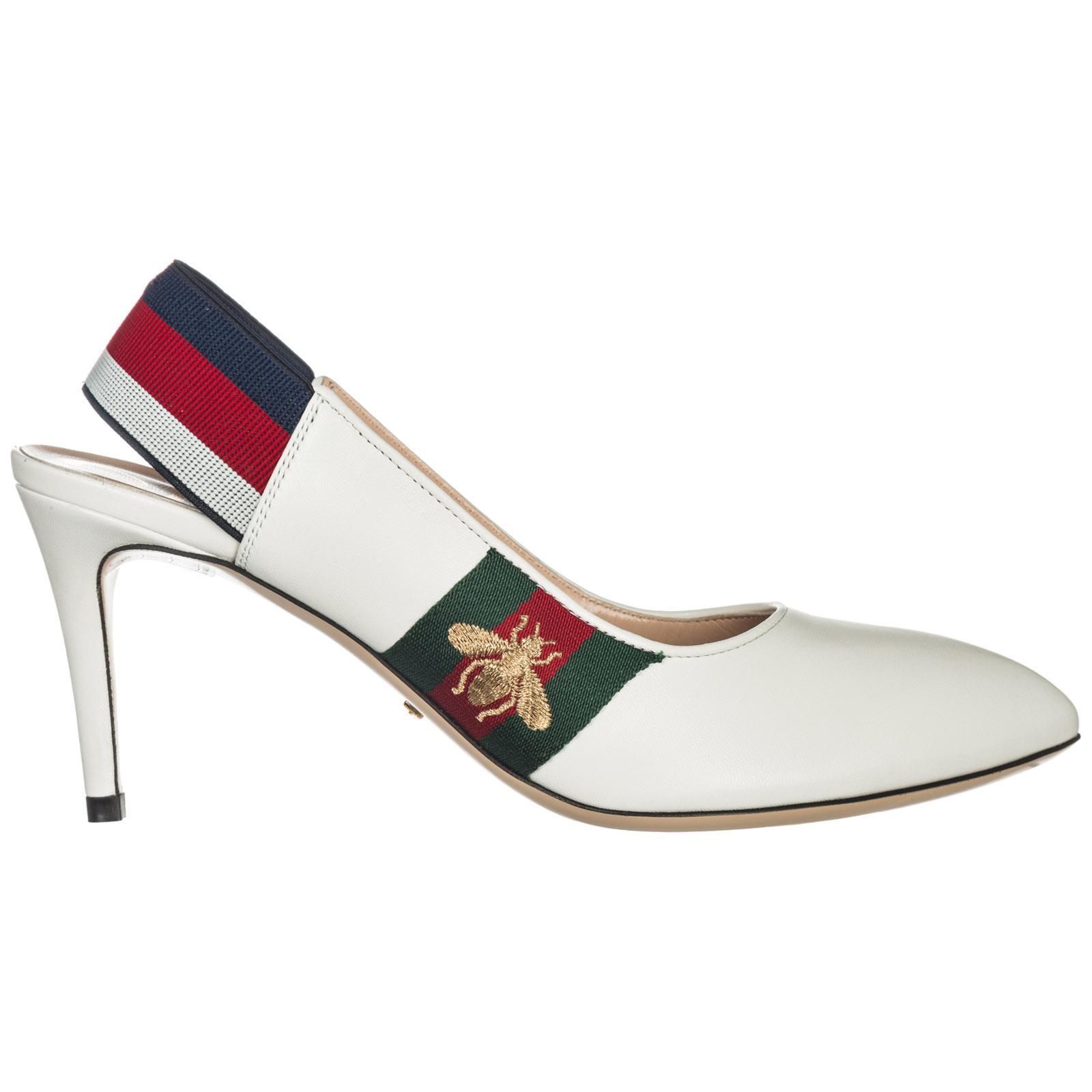 c6e6530ef01e Gucci. Women s Leather Pumps Court Shoes High Heel