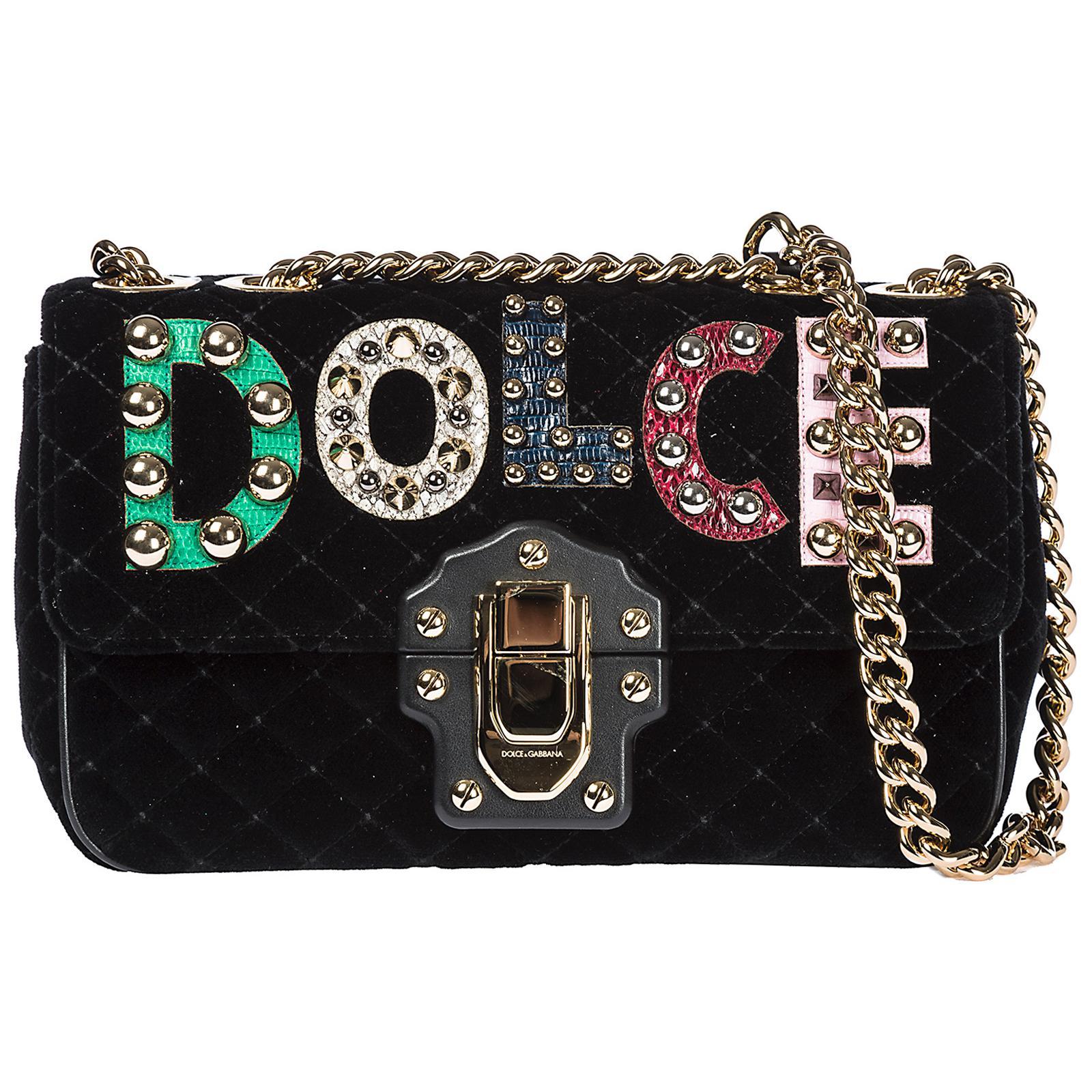 e2f3c4830cce Dolce   Gabbana Shoulder Bag Lucia in Black - Save ...