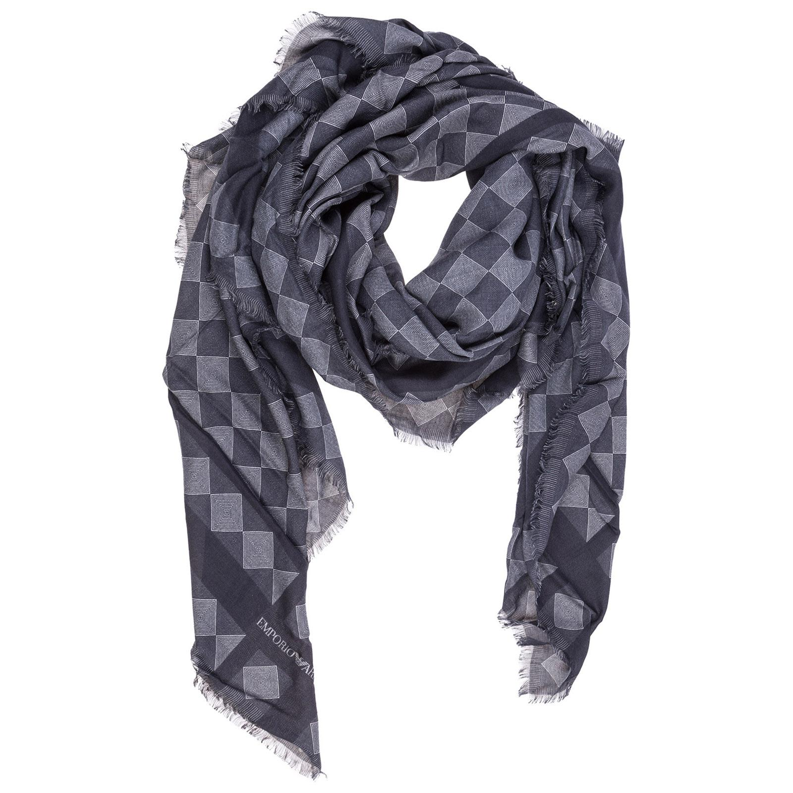ab7e7988f8fd Lyst - Emporio Armani Foulard Scarf in Gray for Men