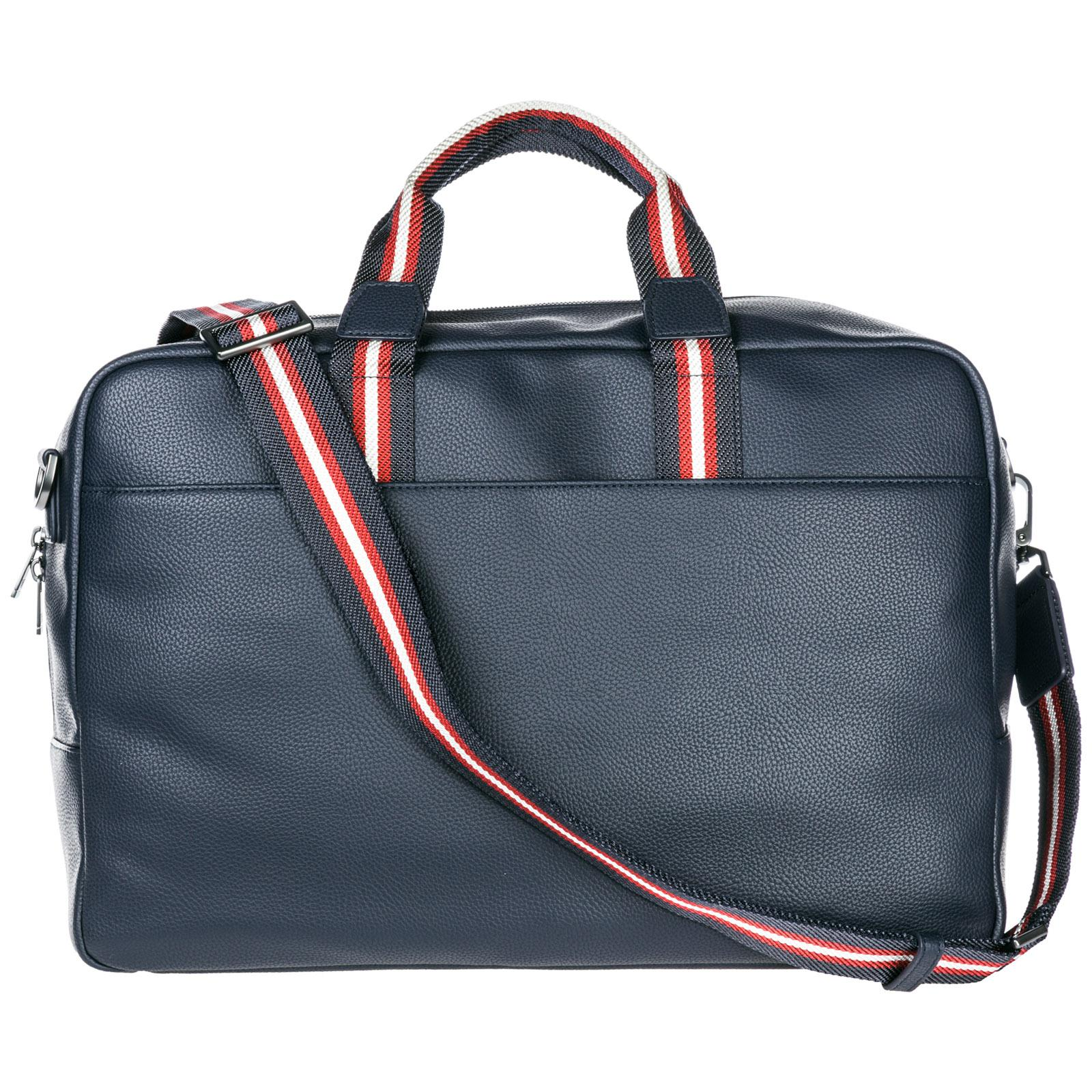 f4b6a40be202 Emporio Armani Travel Duffle Weekend Shoulder Bag in Blue for Men - Lyst