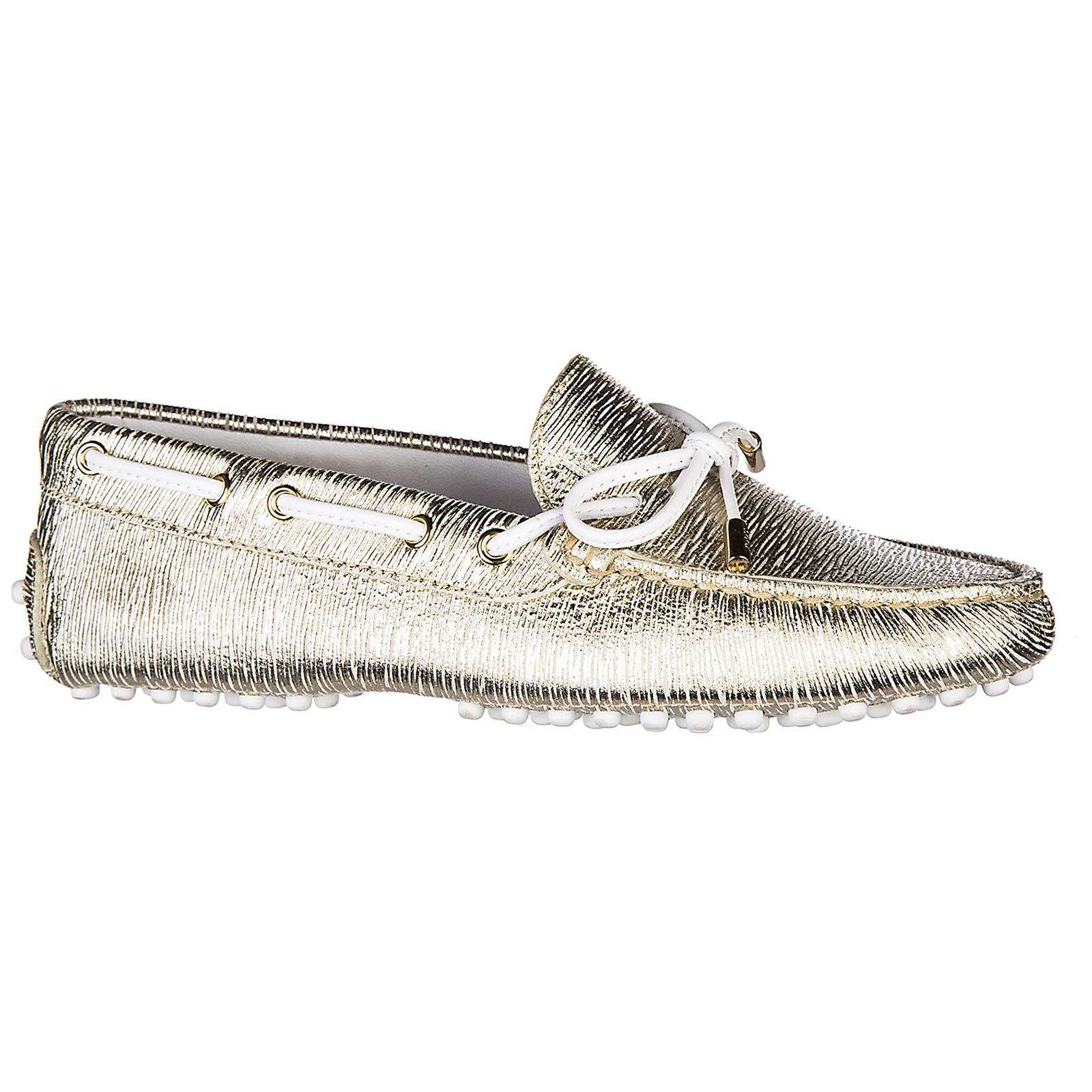 67ee4e5af98 Tod s - Multicolor Girls Shoes Child Loafers Moccassins Leather Laccetto  Occhielli Gommini Junior - Lyst. View fullscreen