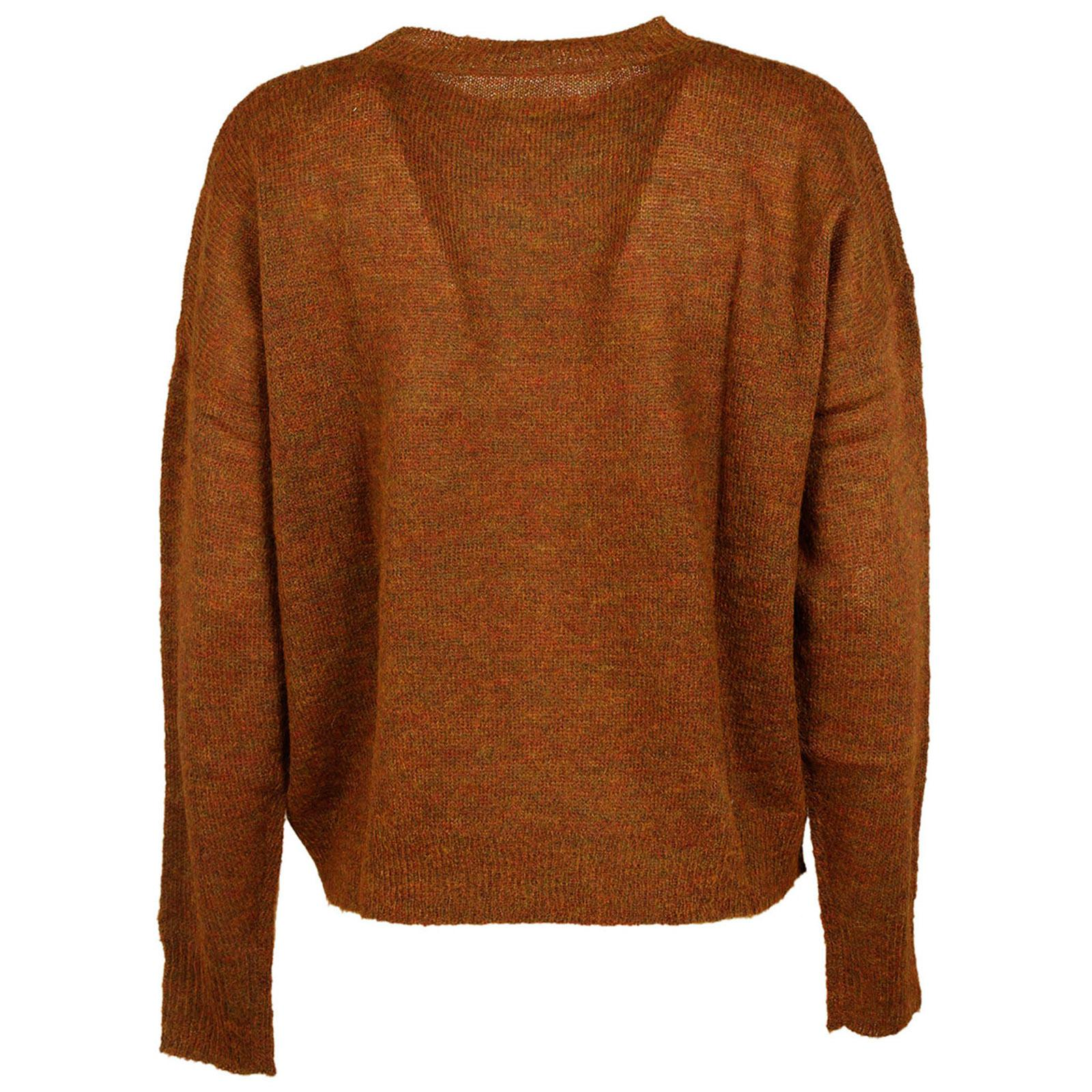 af3fe86529 Étoile Isabel Marant - Brown Jumper Sweater Crew Neck Round Difton - Lyst.  View fullscreen