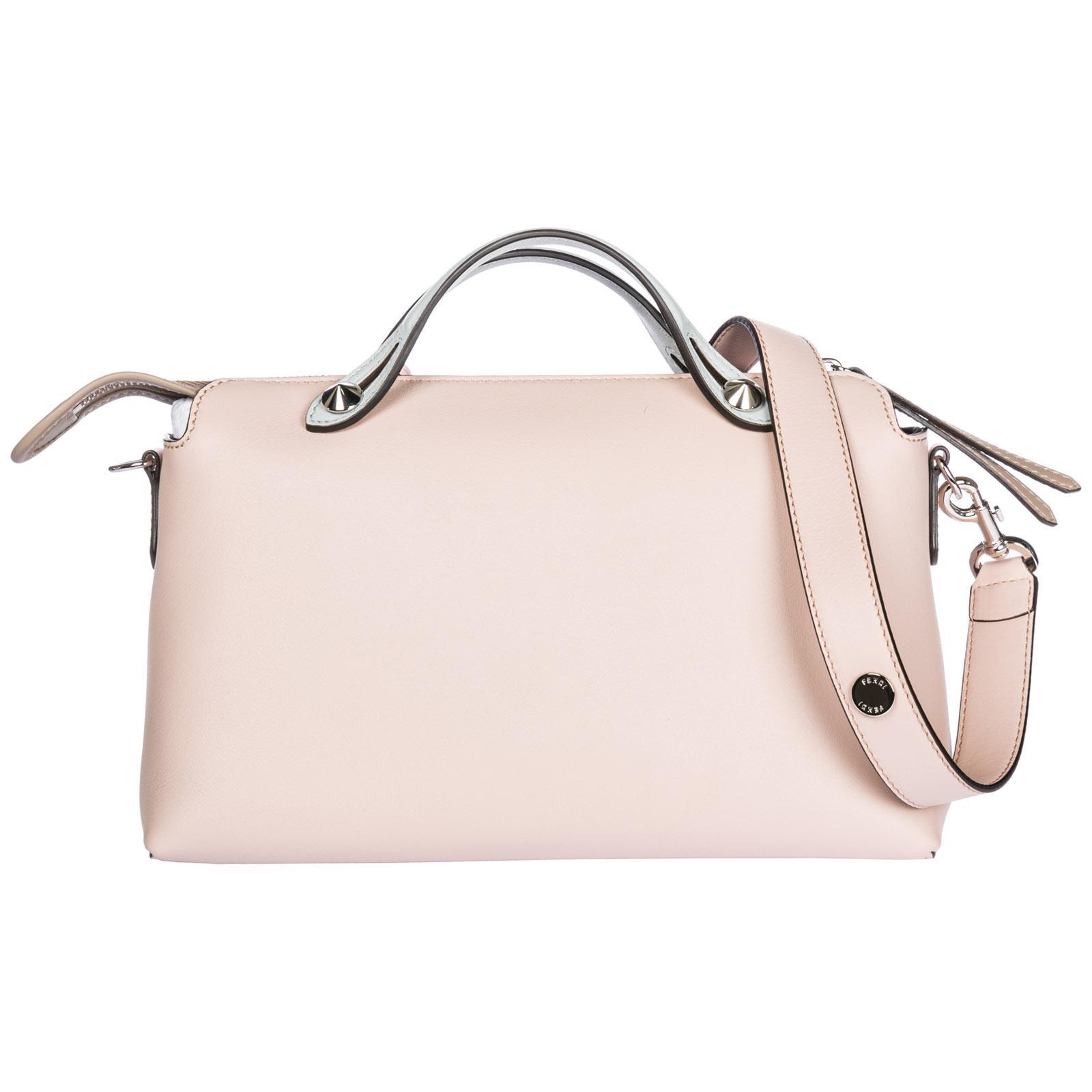 0c4311d3f2f1 Fendi Leather Handbag Barrel Bag Purse By The Way Regular in Pink - Lyst