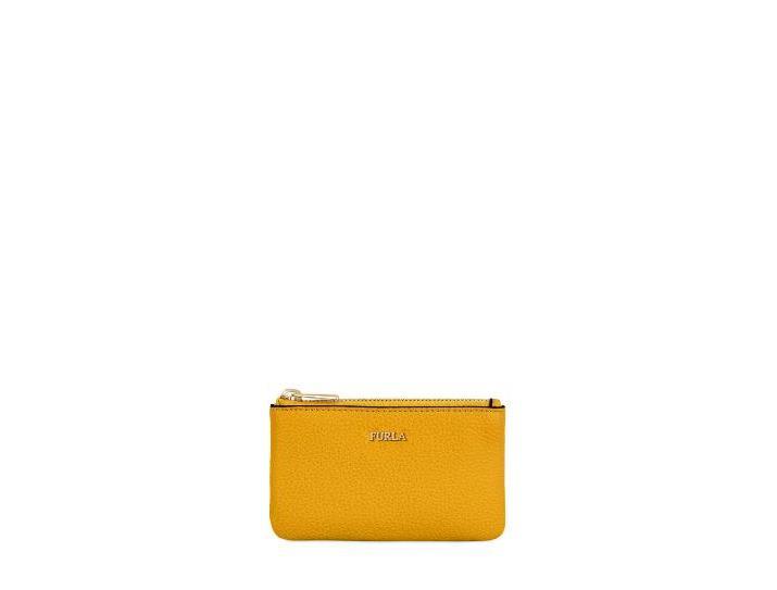 99194d0fcab32 Furla Key Case Ginestra E in Yellow - Lyst