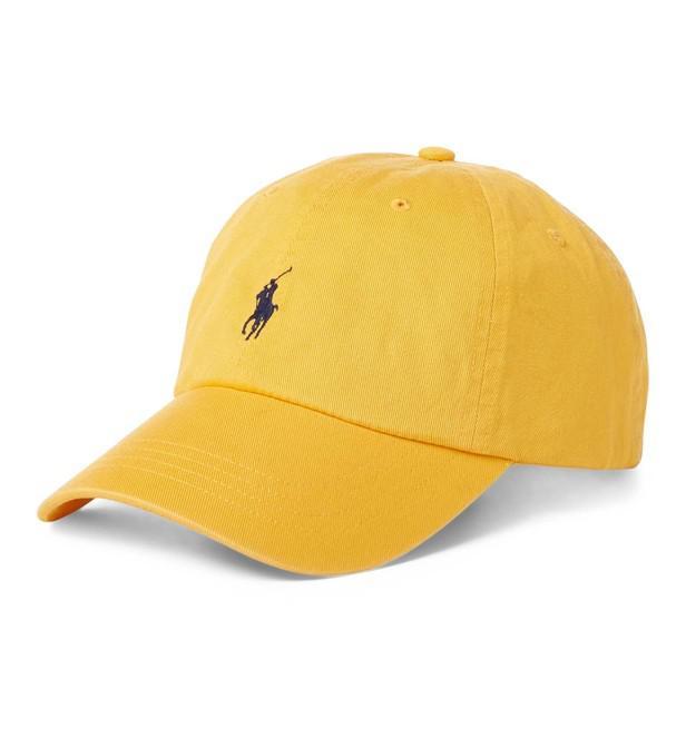 1bc23074f70 Lyst - Casquette à logo Polo Ralph Lauren pour homme en coloris Jaune