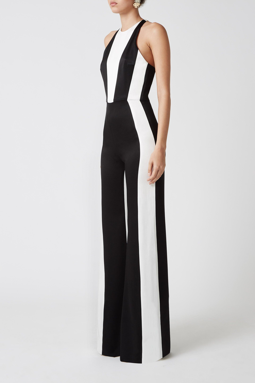 66a5710a21b GALVAN London - Black Marlene Jumpsuit - Lyst. View fullscreen