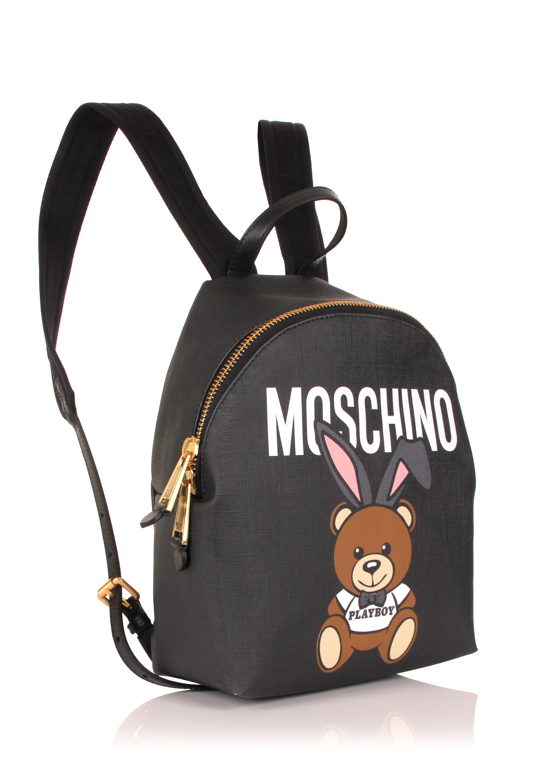 Moschino teddy playboy mini backpack BHJPAj0
