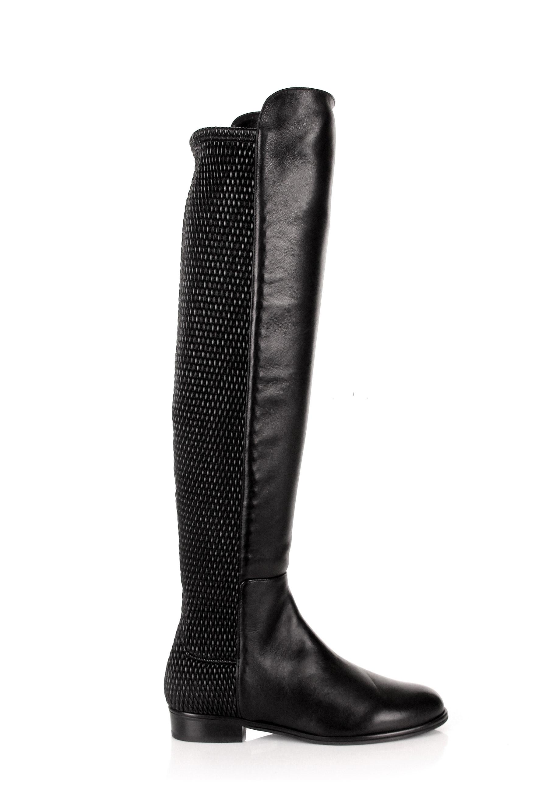 Cheap Stuart Weitzman Allgood Nappa Black For Women Sale Online