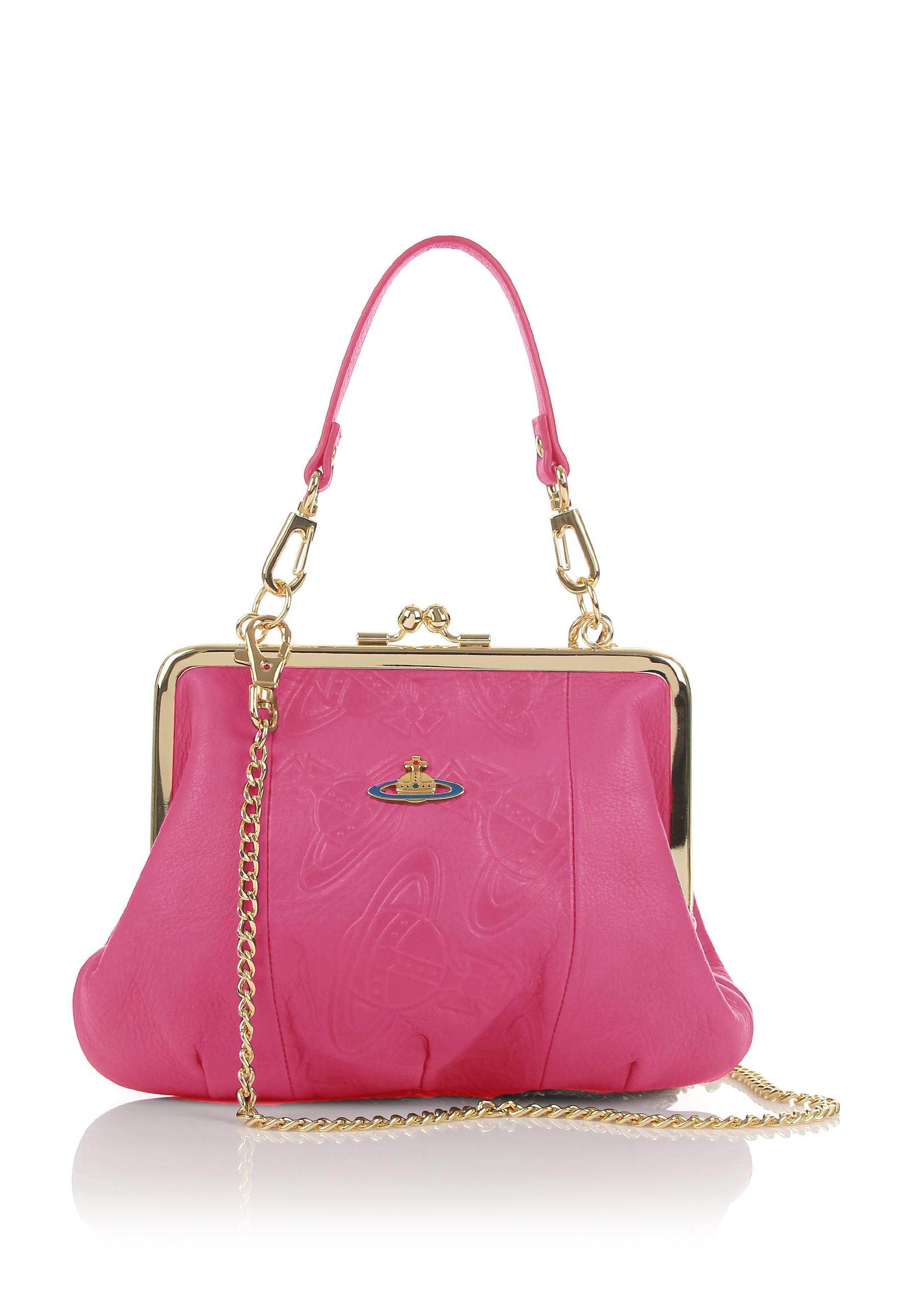 d21c5928ba72 Lyst - Vivienne Westwood Cardiff 3655 Evening Bag Pink in Pink