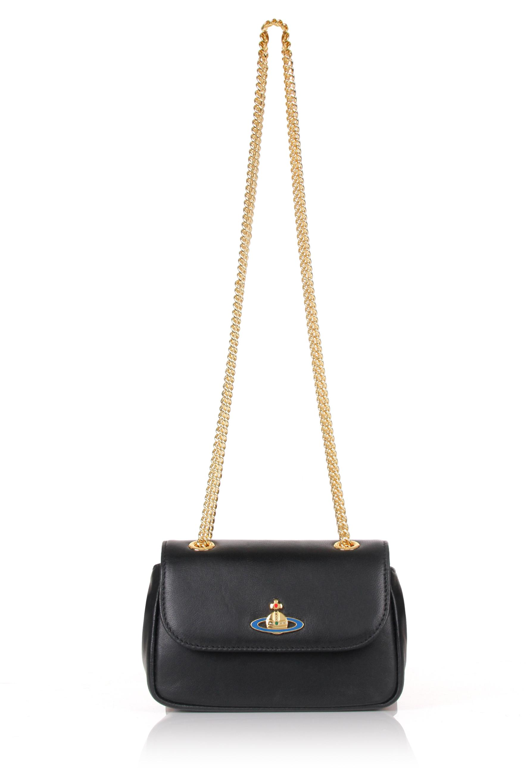 7366b820a0 Lyst - Vivienne Westwood Nappa 7150 Mini Crossbody Bag Black in Black