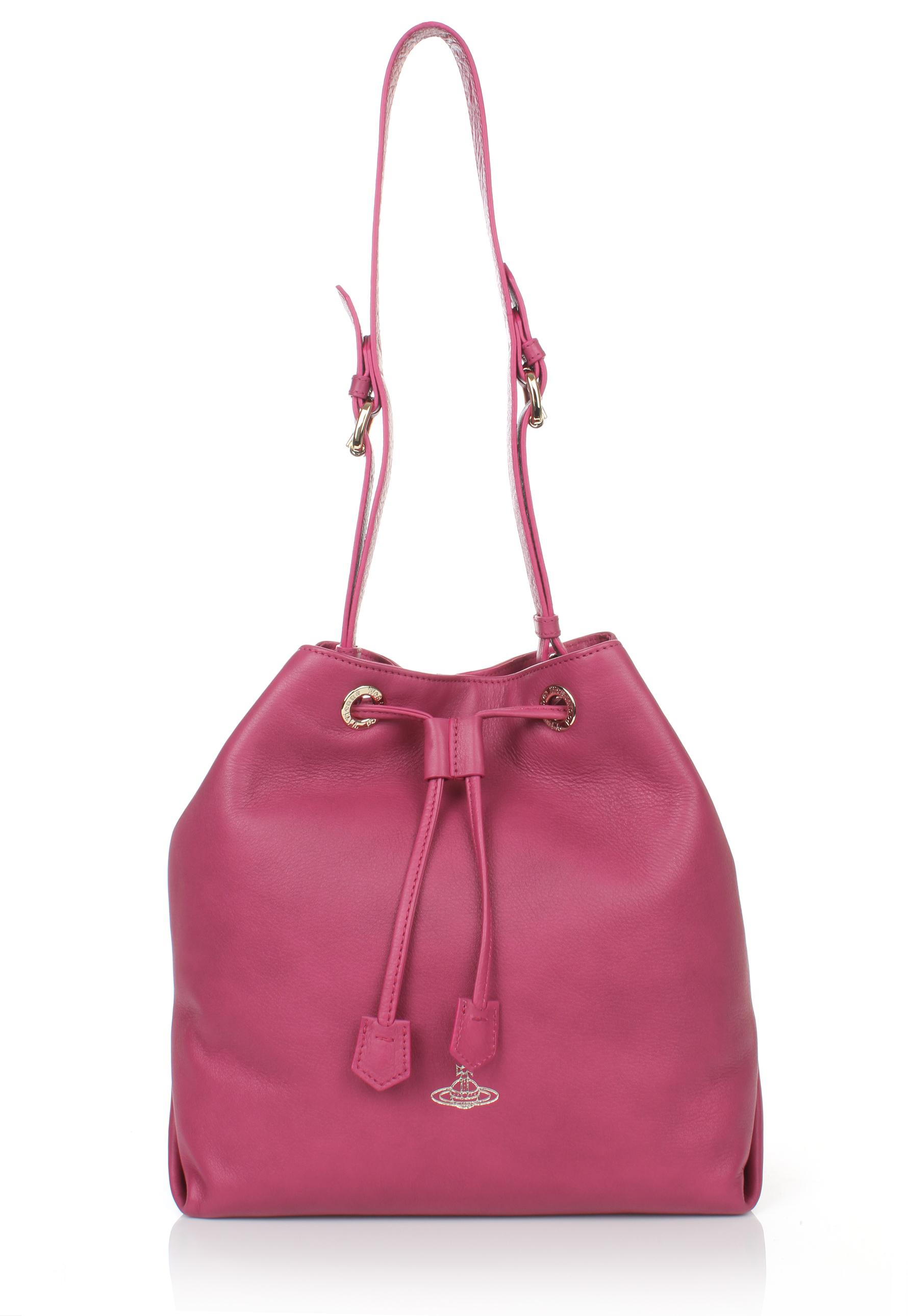 bb76b71ebc15 Vivienne Westwood Spencer 13821 Bucket Bag Fuchsia in Purple - Lyst