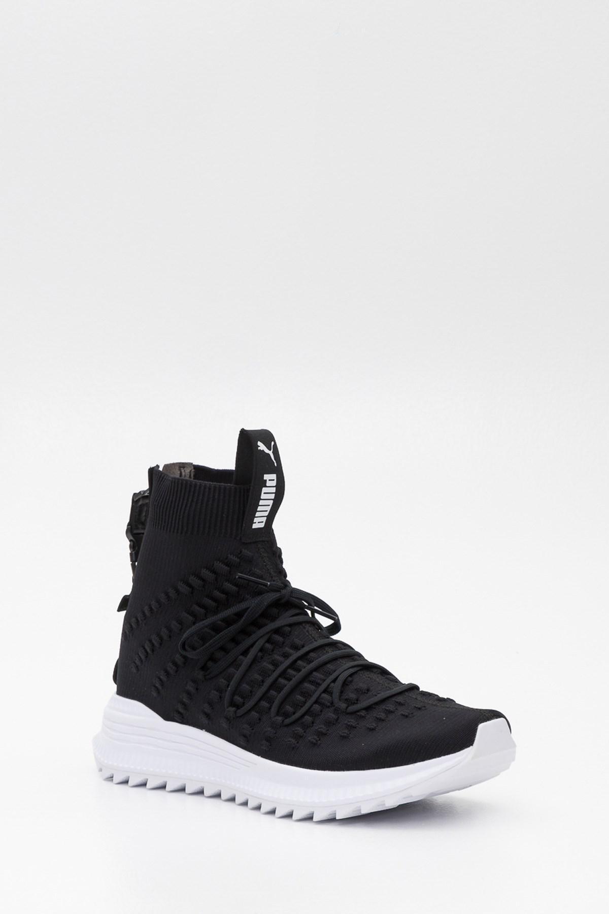 PUMA - Black Avid Fusefit Mid Sneakers for Men - Lyst. View fullscreen 4727b5bd1