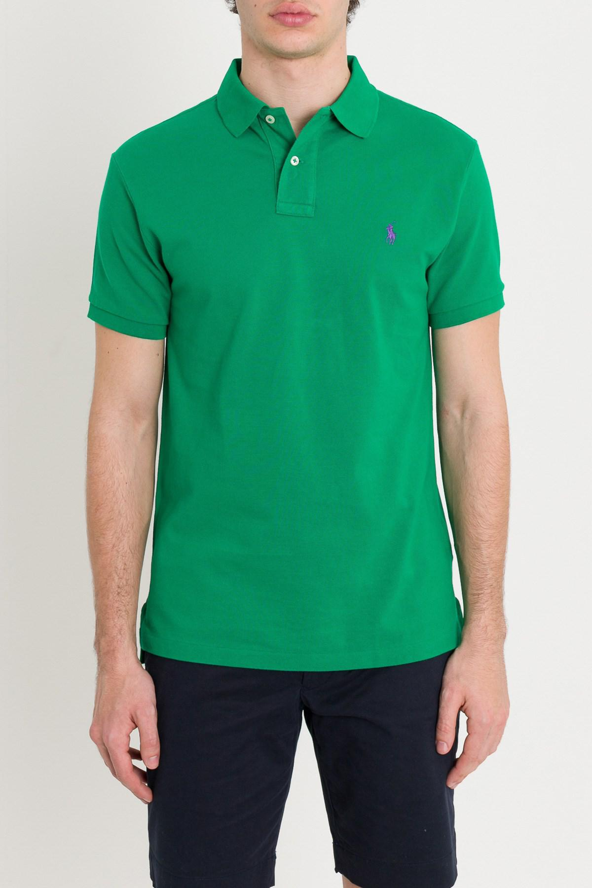 ff89c8ad117 Lyst - Polo Ralph Lauren Polo Shirt in Green for Men
