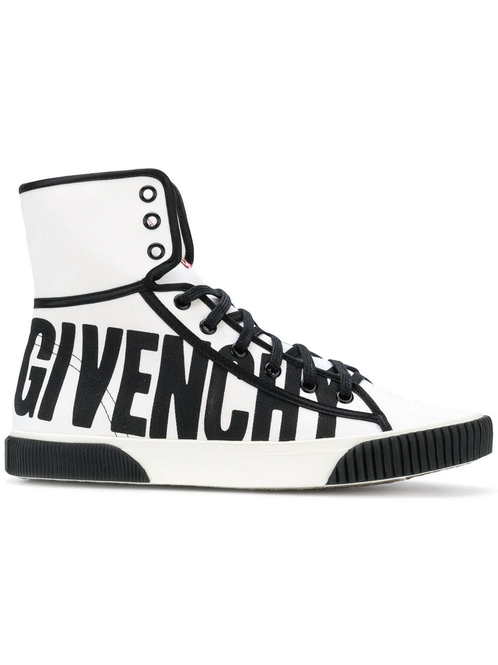 Logo Baskets Salut-top - Blanc Givenchy QPocq