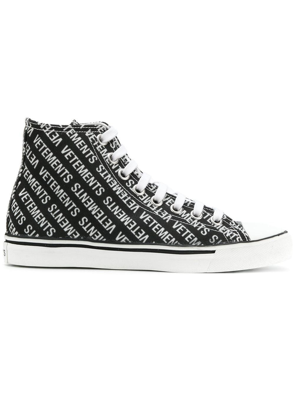 Printed Babouche Sneakers VETEMENTS hGxaAlX
