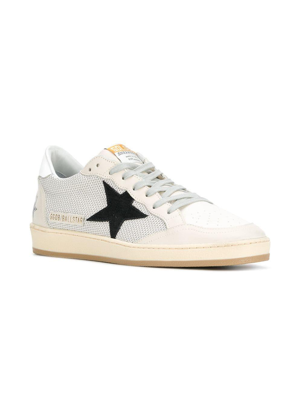 2f2b09adcfcfa Golden Goose Deluxe Brand Ball Star Sneakers for Men - Lyst