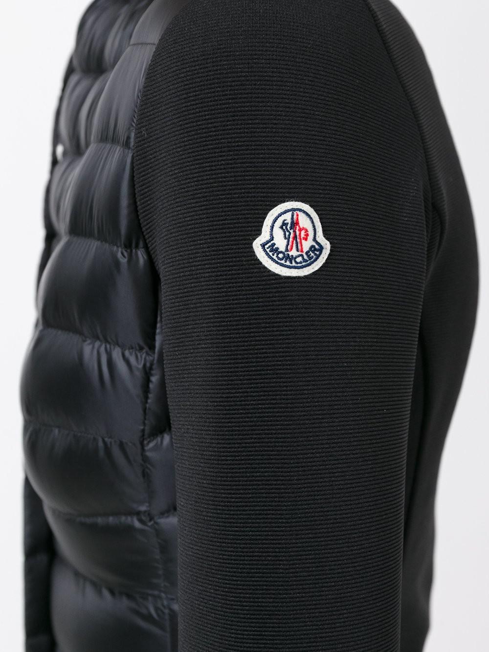 Lyst - Moncler Blen Padded Jacket in Black