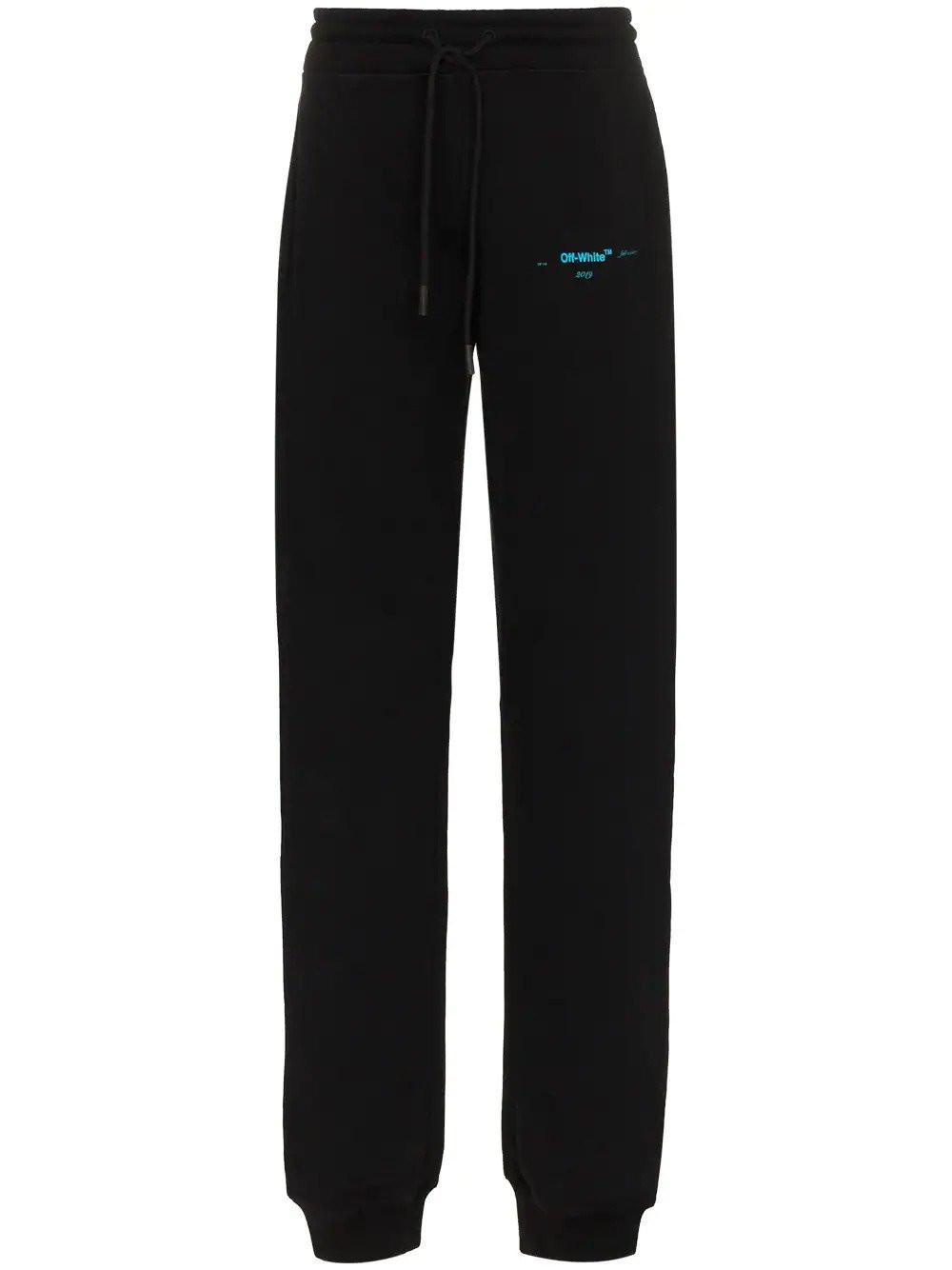 976d1f4d4 Off-White C O Virgil Abloh Black Sweatpants in Black for Men - Lyst