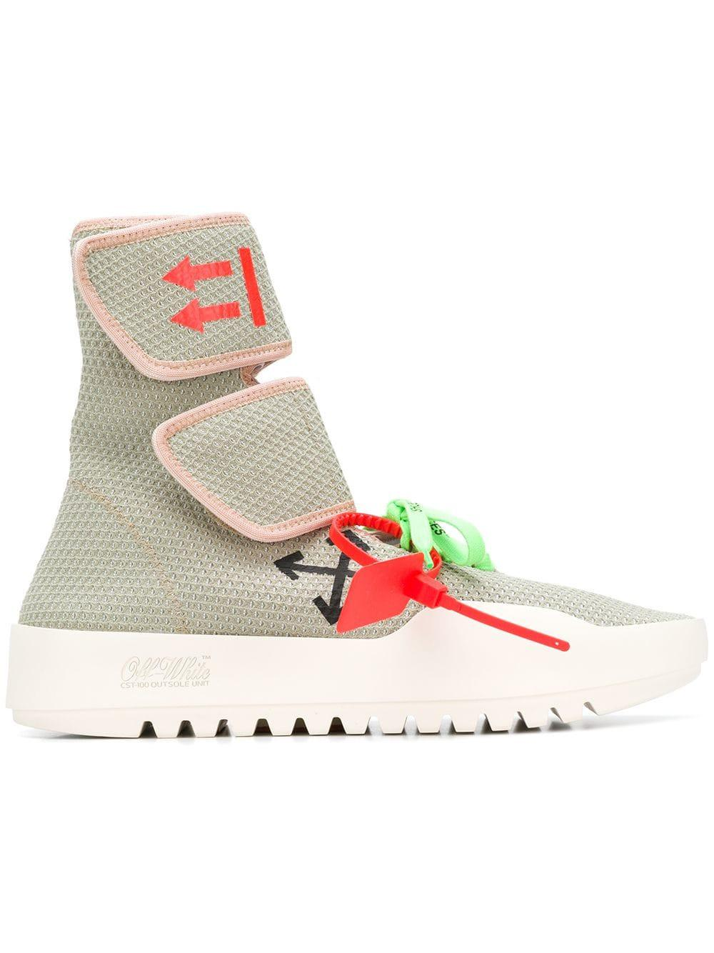 6c5e1467a37d Off-White c o Virgil Abloh Velcro Sneakers for Men - Save 11% - Lyst