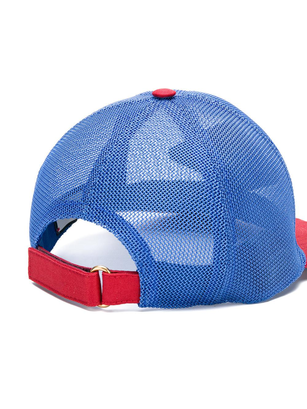 Lyst - Gucci Mesh Baseball Bat in Blue for Men - Save 39% b96d2927ce06