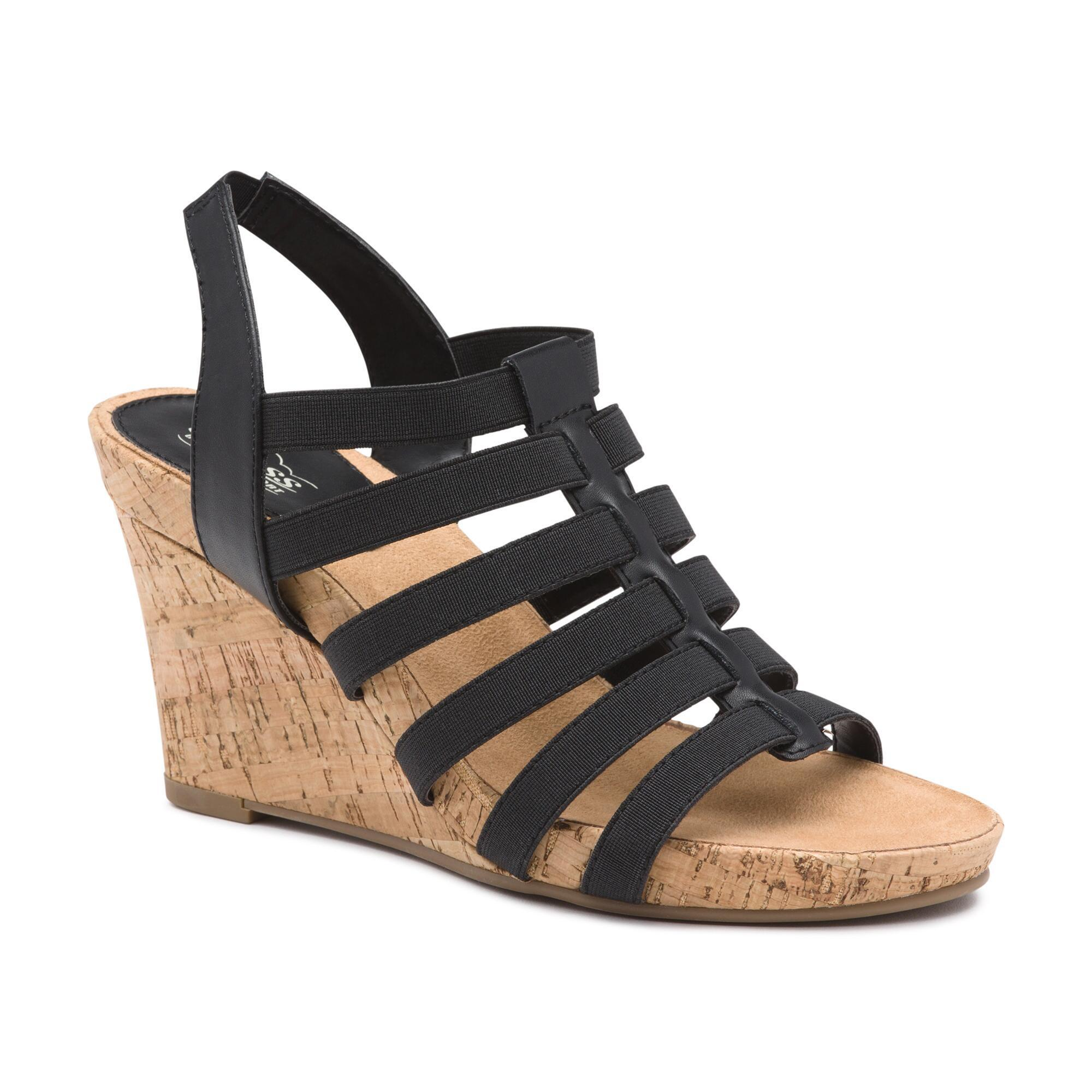 comforter wedge leather sandal previous platform silver comfort side sandals shop