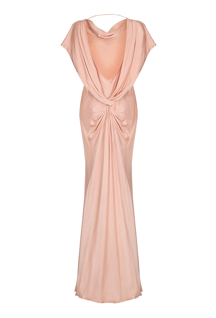 Ghost camelia dress pink sand in pink lyst for Tj maxx wedding guest dresses