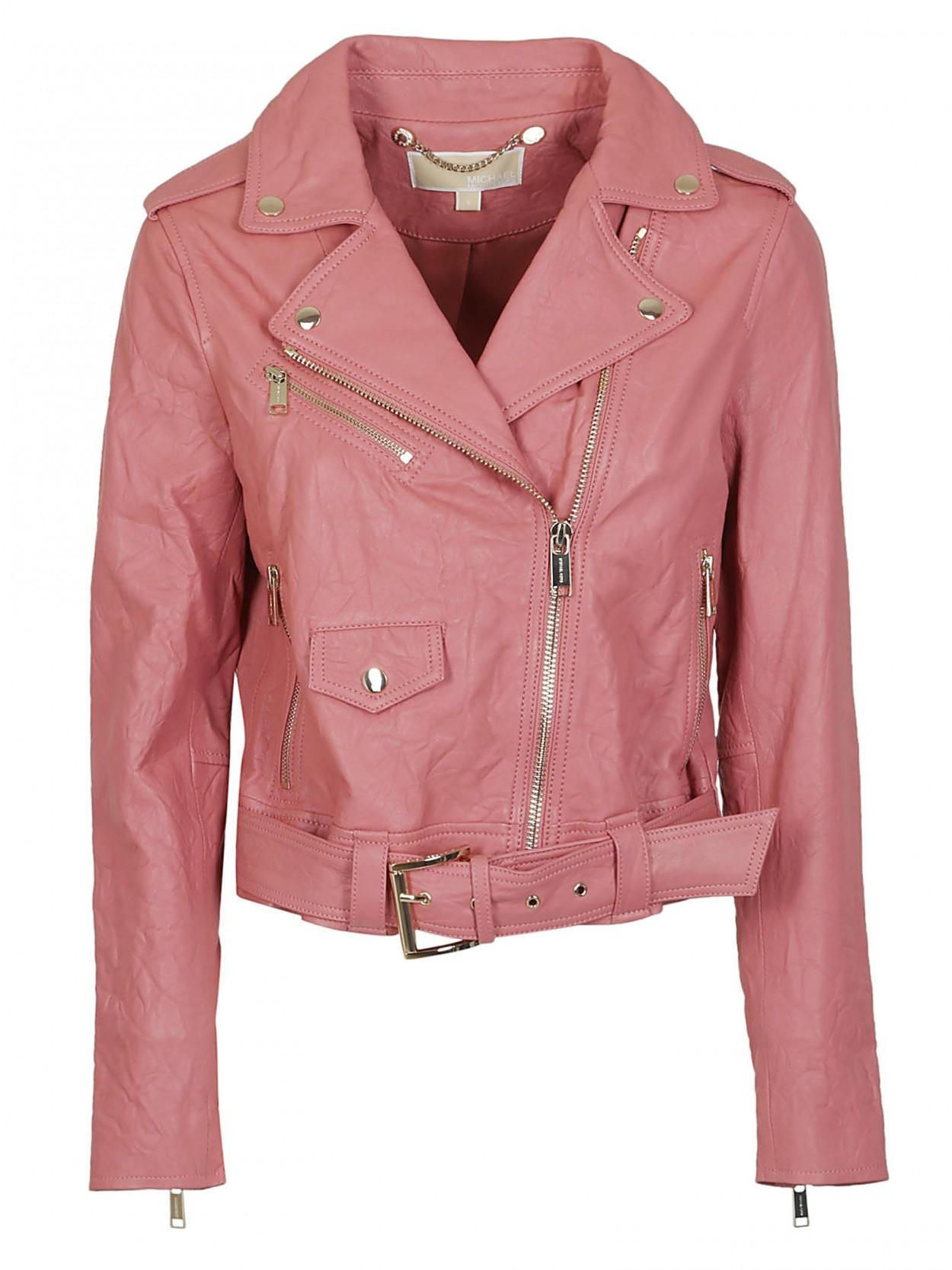 927a84f5bb Lyst - Michael Kors MICHAEL KORS giacca salmone in Pink