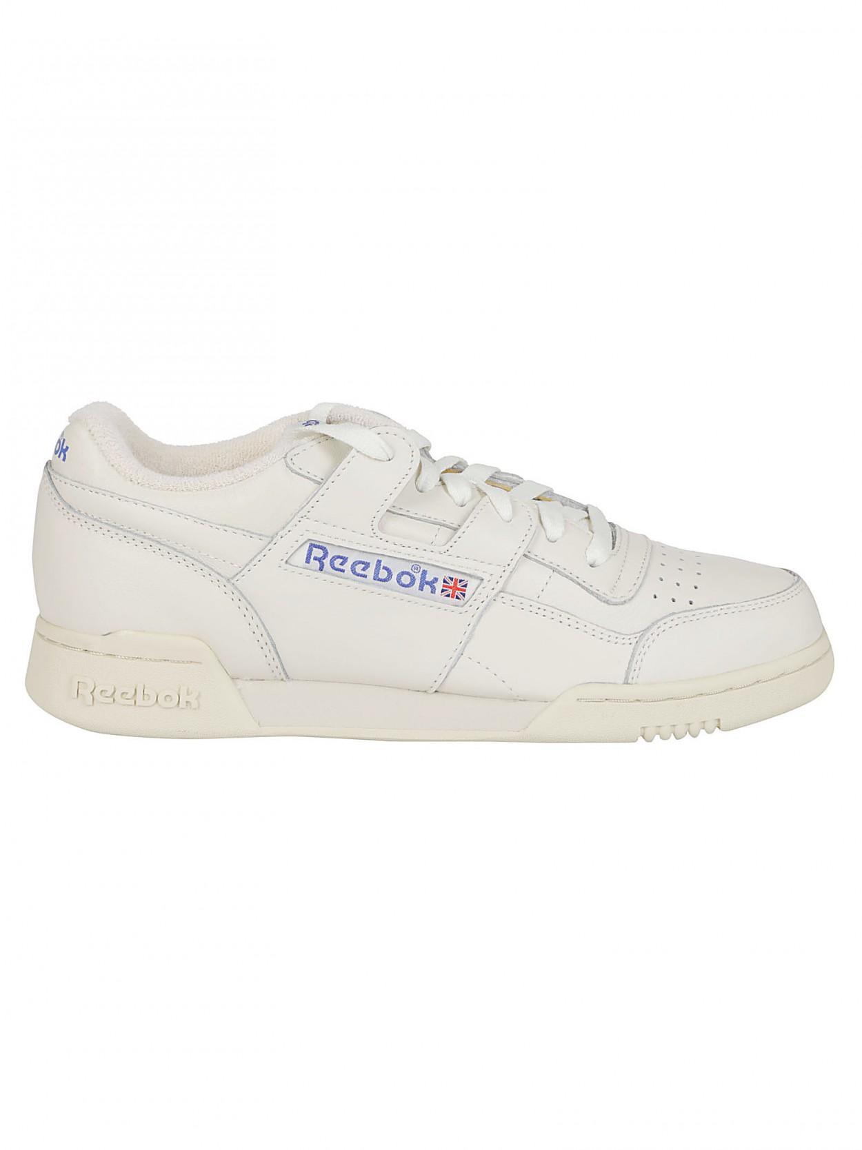 c57100fe99b73 ... REEBOK sneaker workout plus 1987 bianca for Men - Lyst. View fullscreen