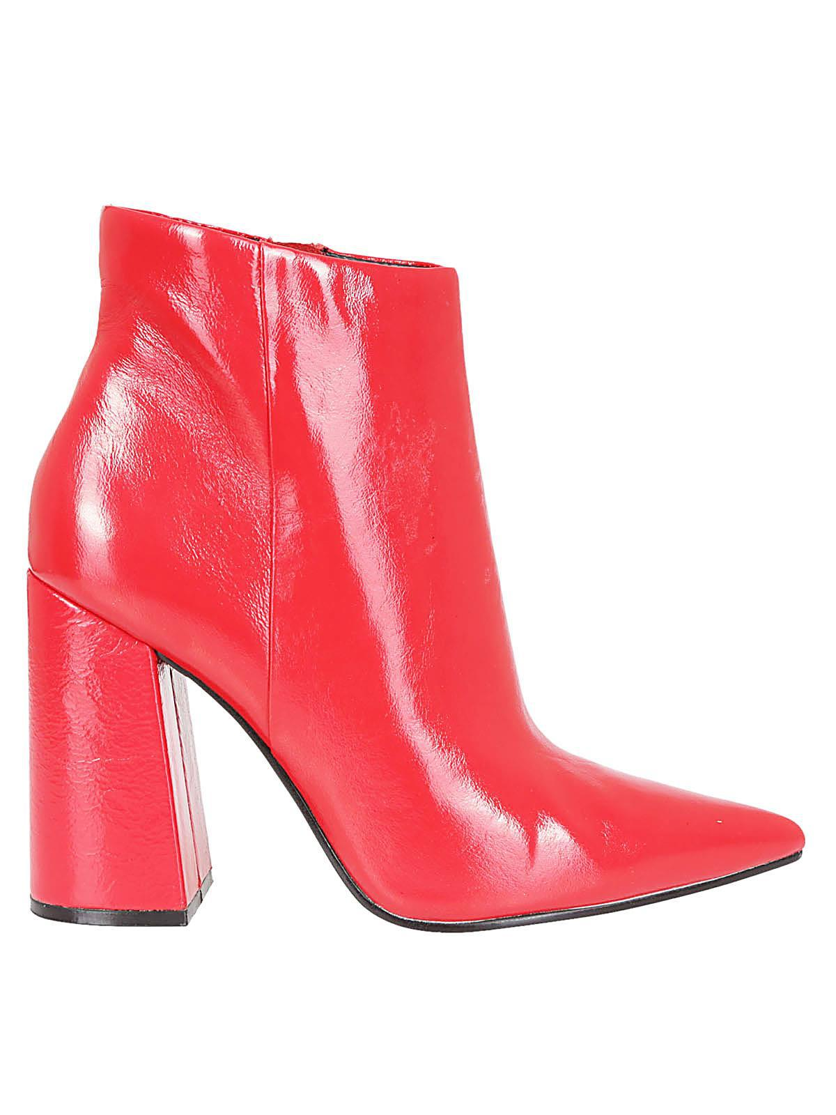 d8fb9ad3d Steve Madden Boots For Women in Red - Save 22% - Lyst