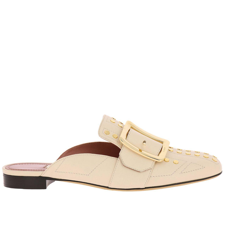 fb748a4d3bb59 Bally Ballet Flats Shoes Women in Natural - Lyst