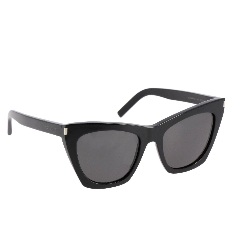 dc06d7bf282 Lyst - Saint Laurent Sunglasses Women in Black