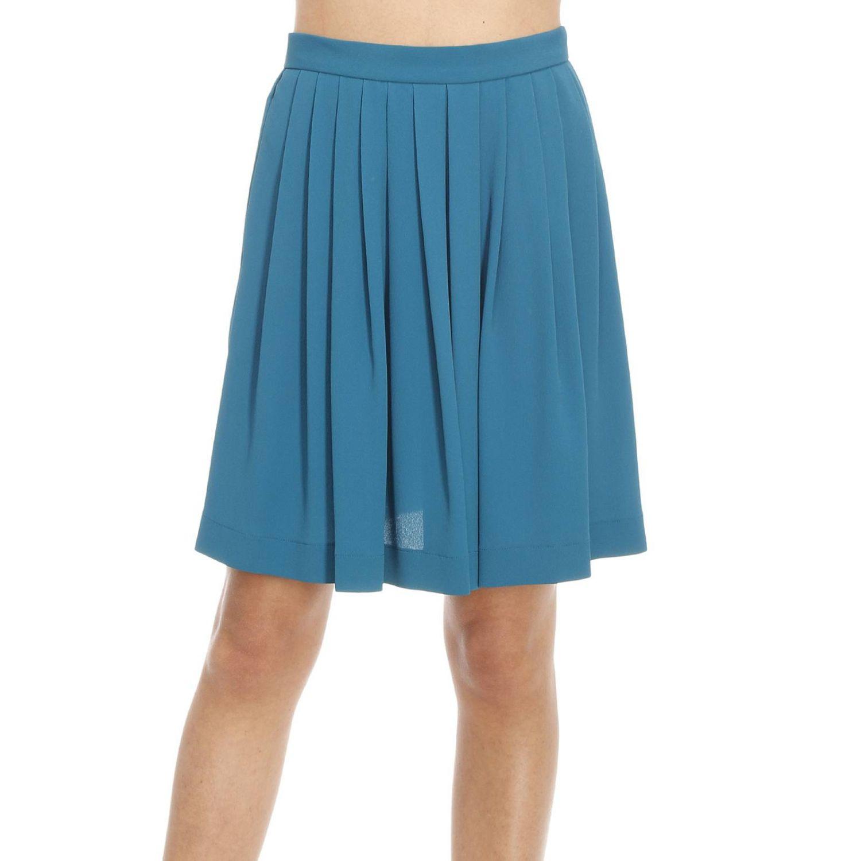 m missoni s skirts in blue petroleum blue lyst