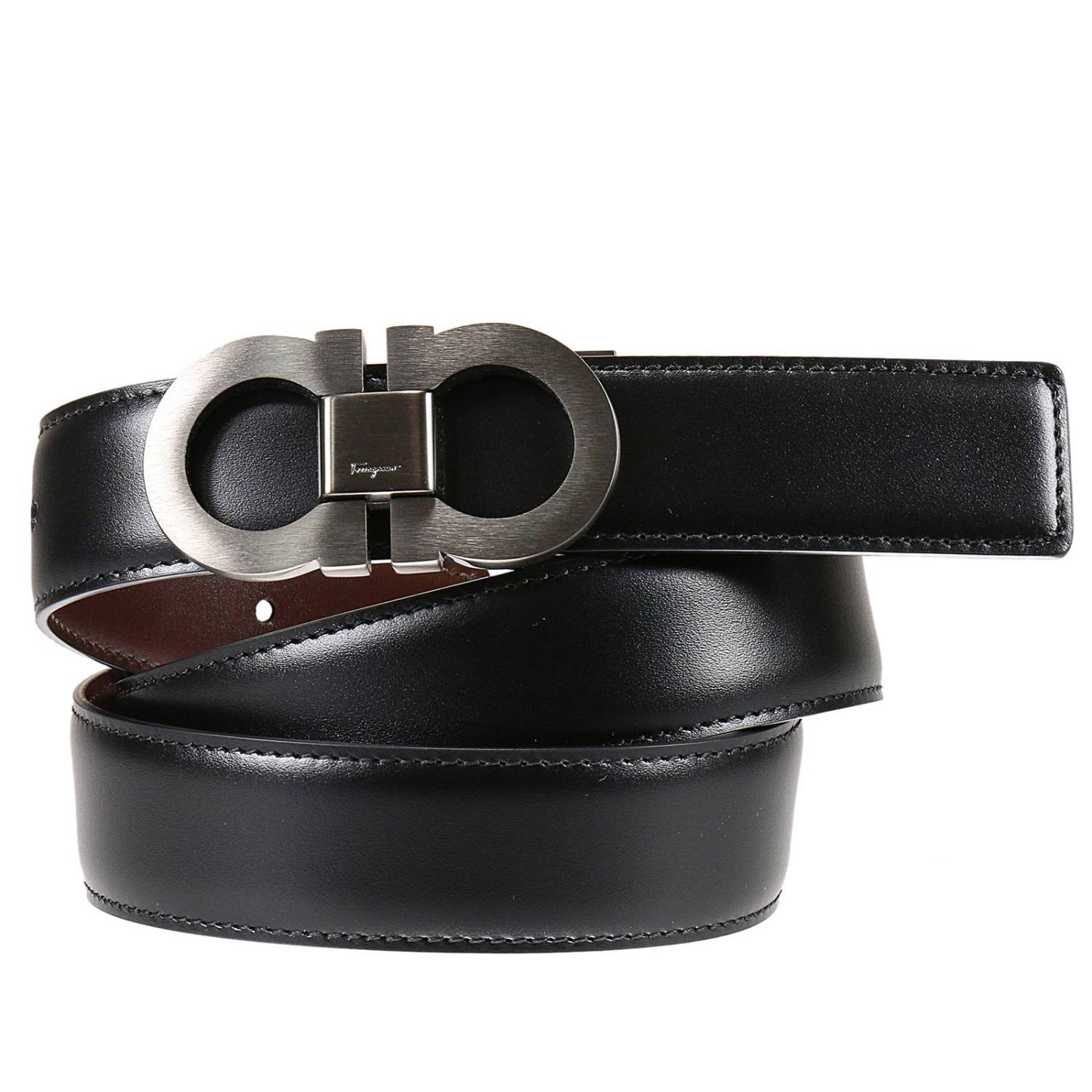 Huge selection of quality leather dress belts for men and women. You can choose from smooth to embossed to suede leather.