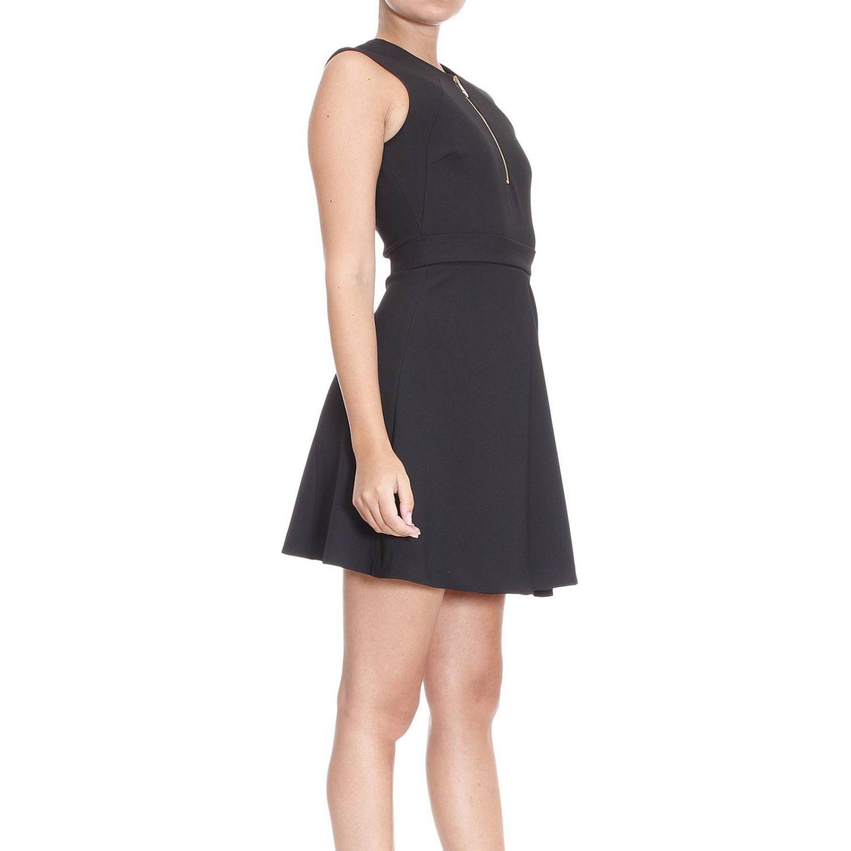 Lyst Versace Short Dress In Black