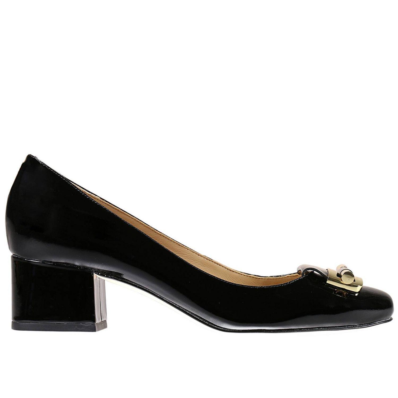 michael michael kors heels shoes in black lyst