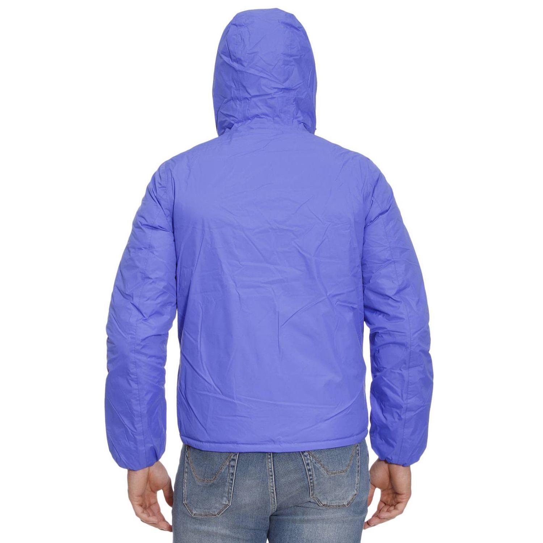 Lyst K Way Jackets Man In Blue For Men