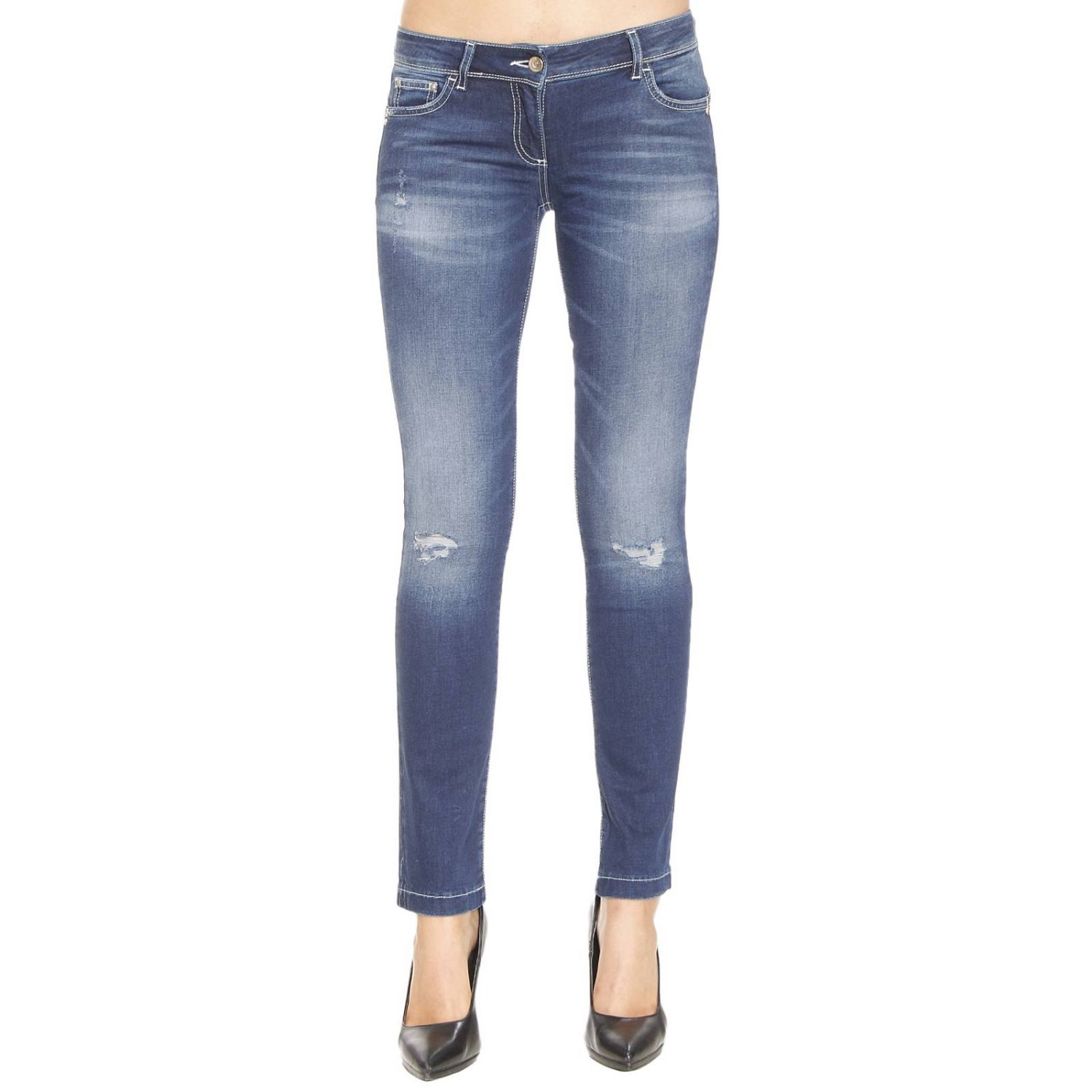 Lyst - Patrizia Pepe Jeans For Women Woman in Blue - Save 12%