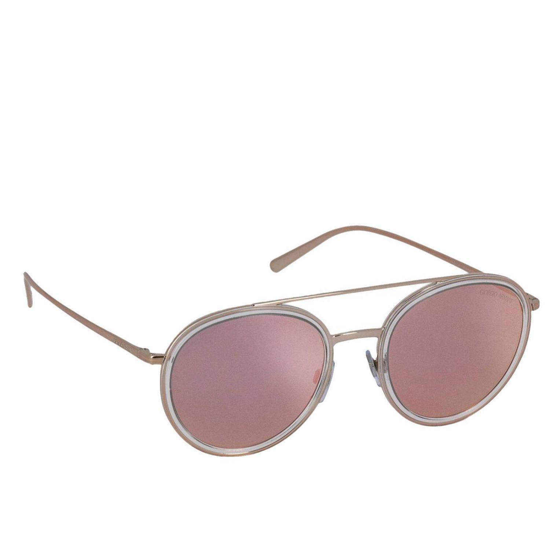 e04c911157a Giorgio Armani Sunglasses Women in Pink - Save 3% - Lyst