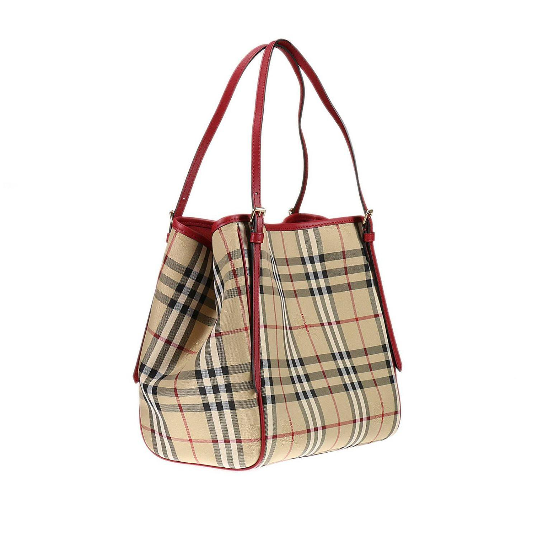 Burberry Shoulder Bag Handbag Women in Red | Lyst