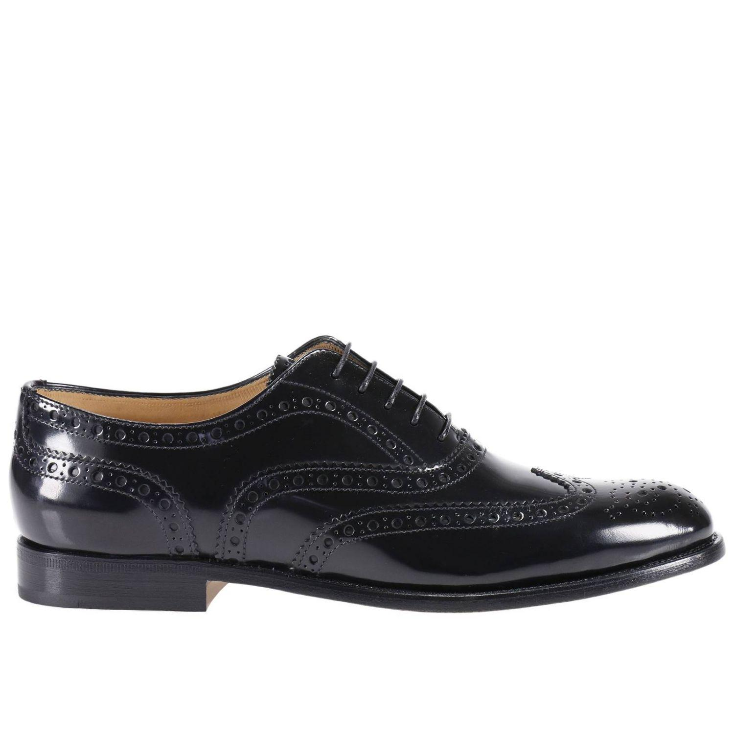 church s oxford shoes shoes in black lyst