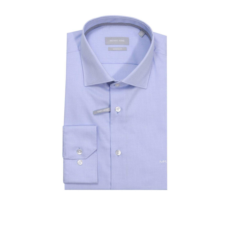 michael michael kors shirt men in blue for men lyst. Black Bedroom Furniture Sets. Home Design Ideas
